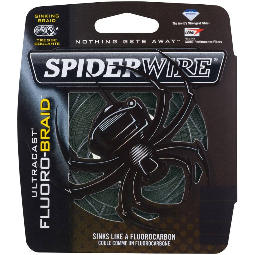 Spiderwire Ultracast - Fluorobraid Green 270m