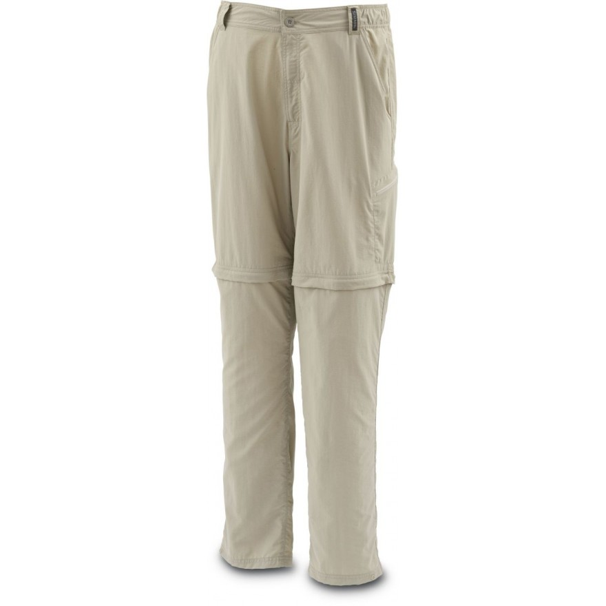 Simms Superlight Zip-Off Pant Cork