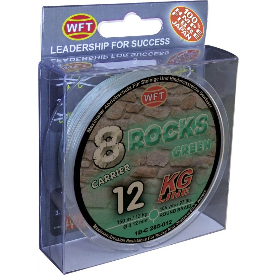WFT 8 Rocks green 300m, 26KG, 0.30mm