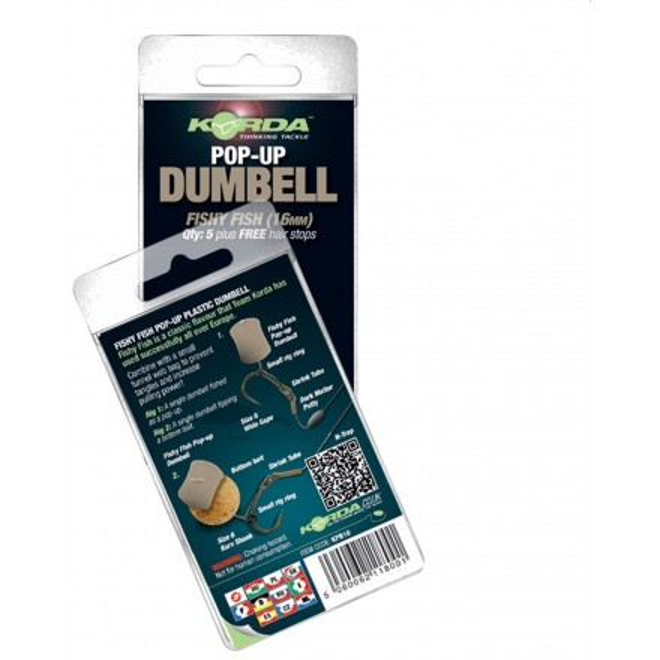 Korda App/ât artificiel Banofee Pop-up Dumbell