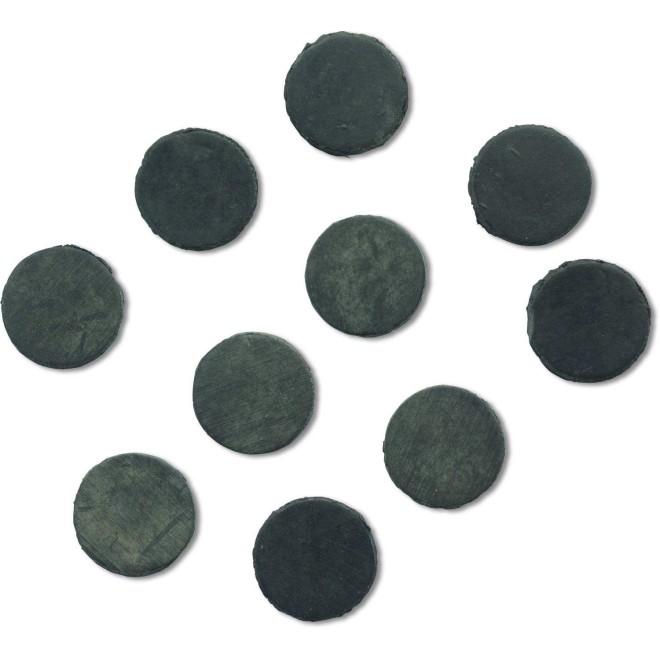 Rhino Black Cat Rubber Shock Beads 10mm 10pcs Carp Fishing Tackle Accessory