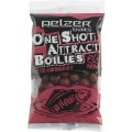 Pelzer One Shot Attract Boilies, Strawberry, 250g
