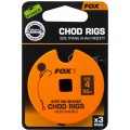Fox Edges Standard Chod rigs barbed Hook 4