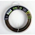 Fox Snag Leader Line Camo 100m, 0.45mm, 25lbs