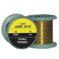 F+M Oval Tinsel -  gold hell