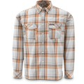 Simms Kenai Shirt Grey Plaid S