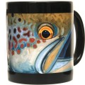 DeYoung Atlantic Salmon Mug - Black