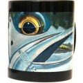 DeYoung Sea Trout Face Mug - Black
