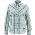 Simms Women's Big Sky Shirt Celery Plaid L