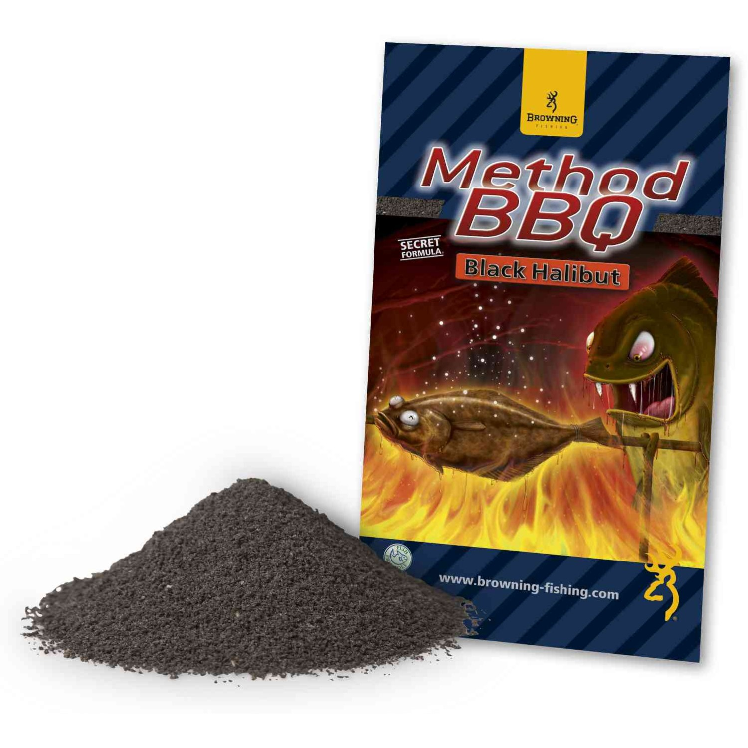 Browning Grundfutter Method BBQ Black Halibut 1kg