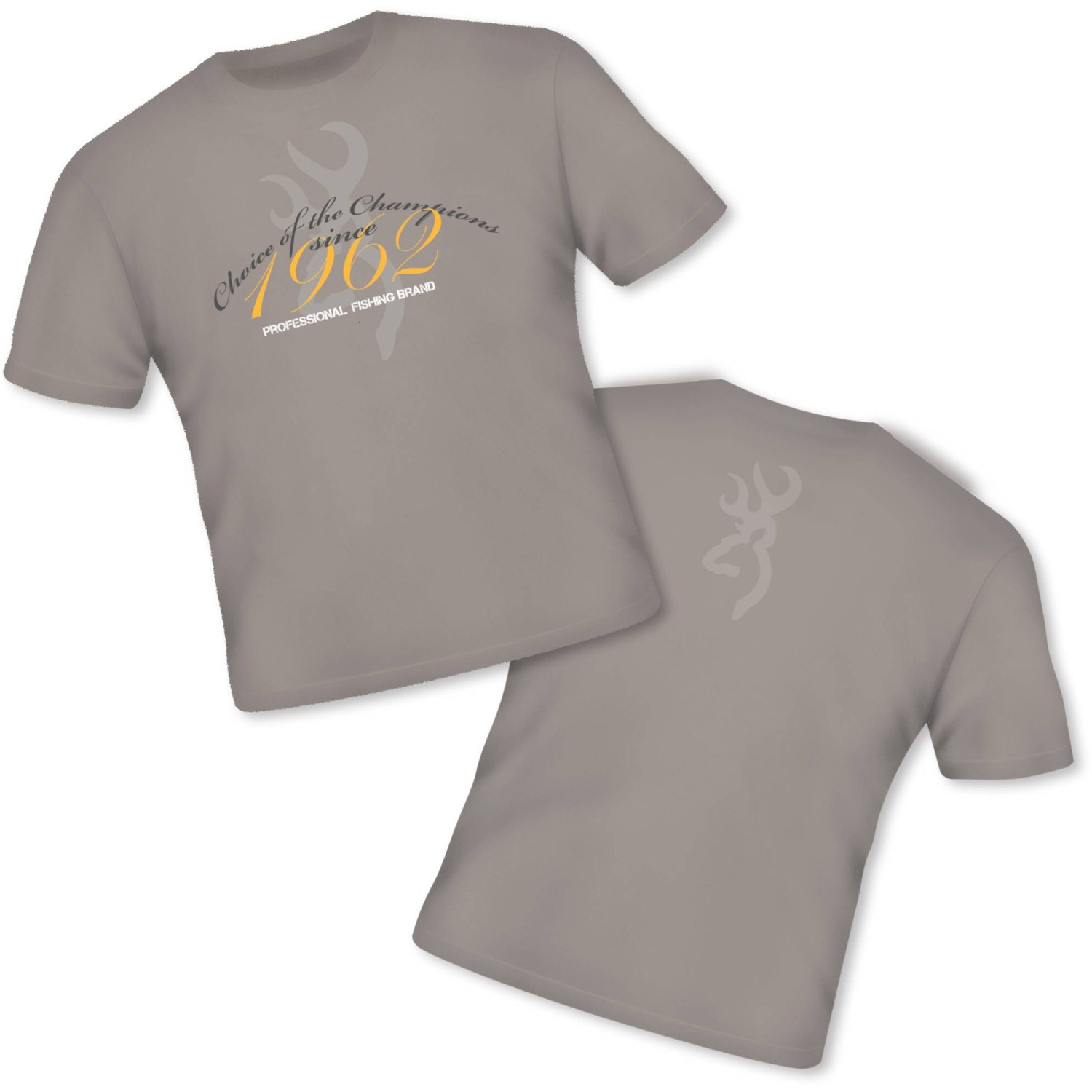 BROWNING T-Shirt Classic sand