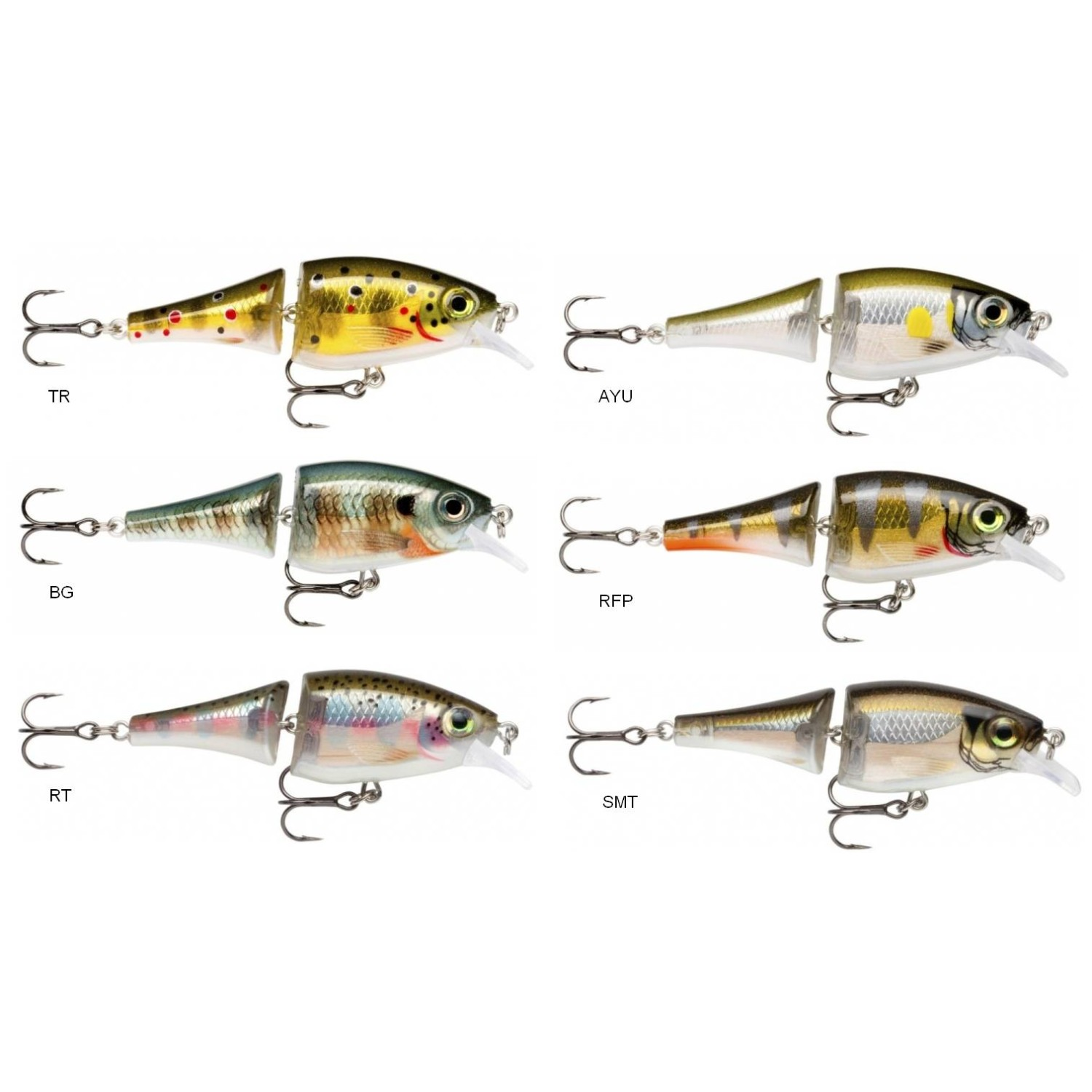 RAPALA BX Jointed Shad 6cm, 7g