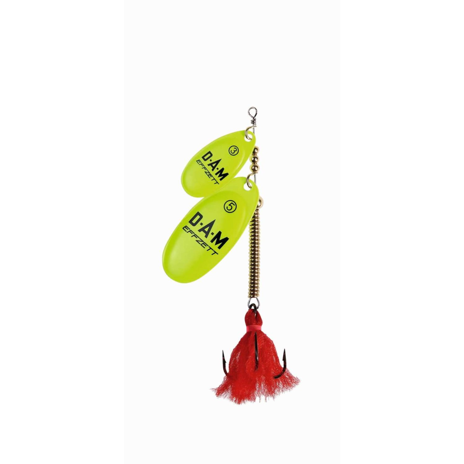 bbbac78e2a7 DAM Effzett Shallow Runner Tandem Fluo Yellow, Fishingtackle24 -  Angelbedarf Angelruten Angelbekleidung Angelzubehör Kunstköder Angeltaschen  Angelzelt ...