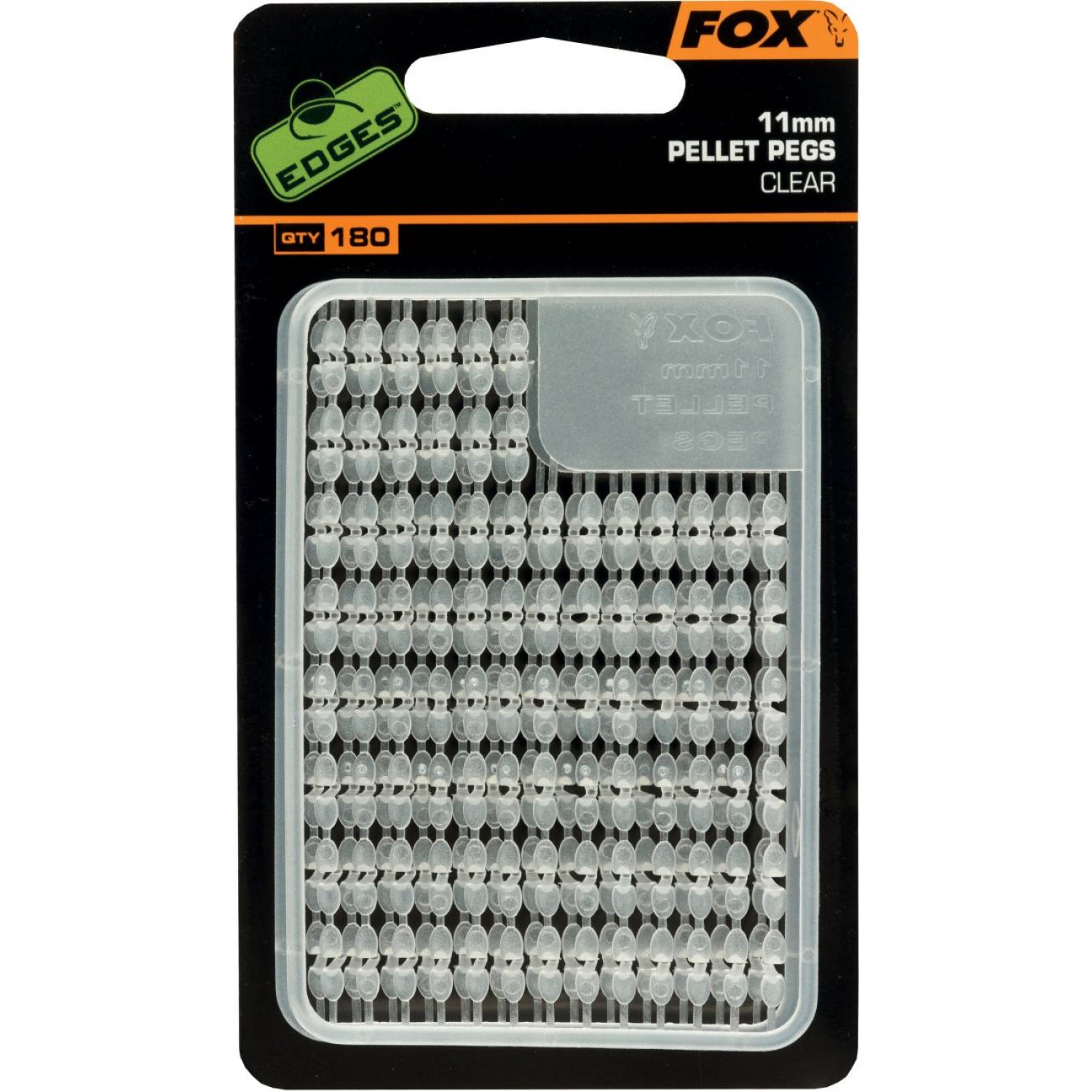 Fox Edges Pellet Pegs, Clear