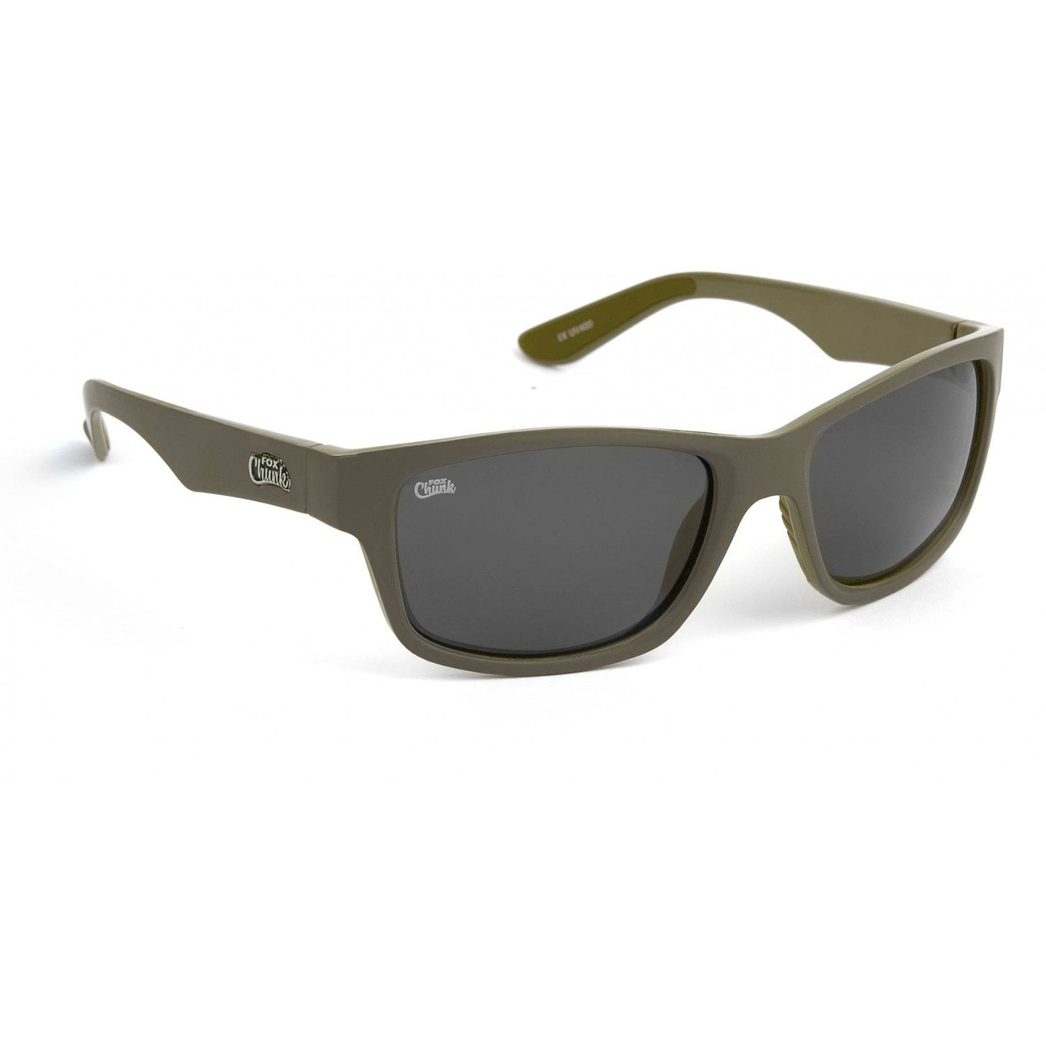 Fox Chunk Khaki Frame/Grey Lens Sunglasses