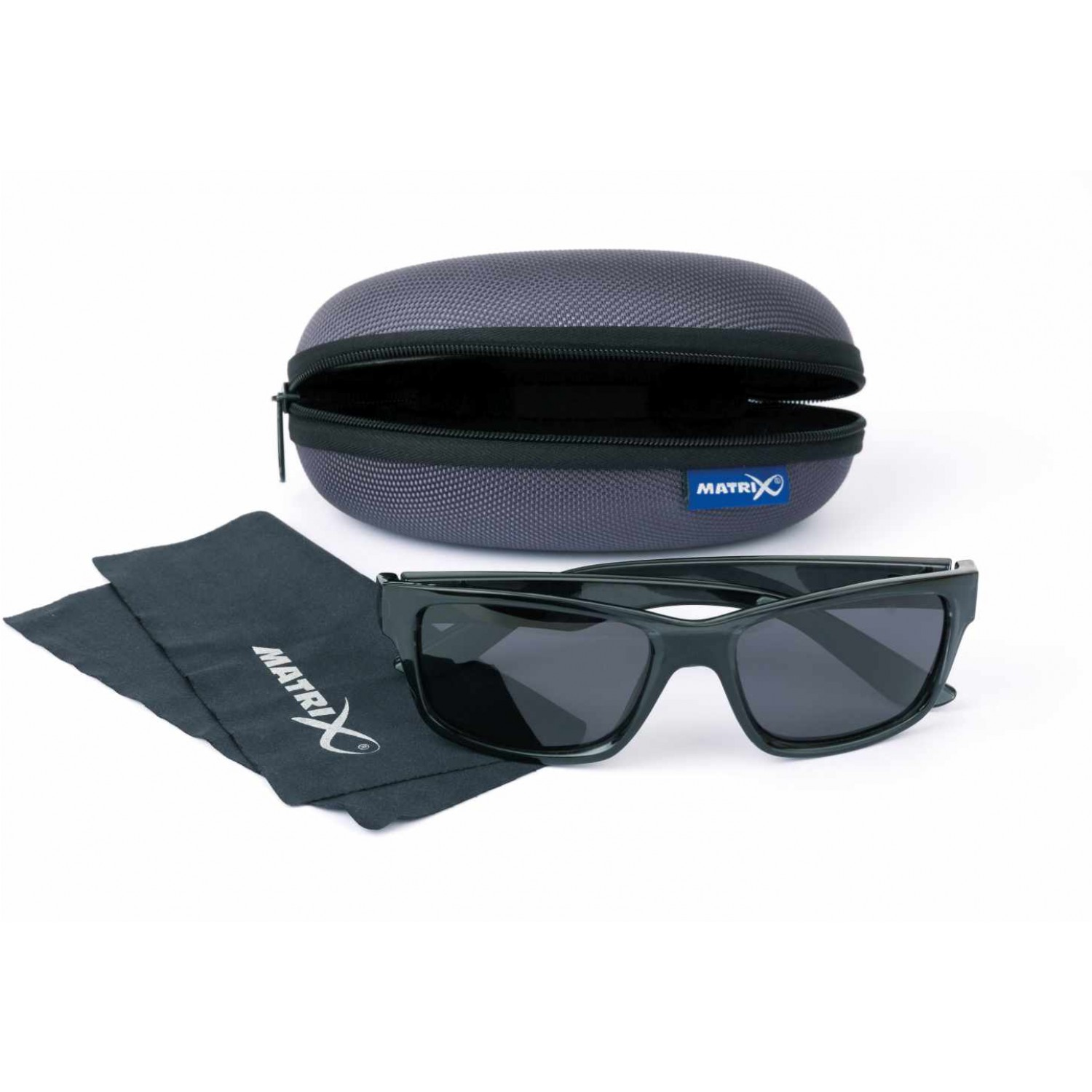 72cfb6282ec Fox Matrix Glasses Trans Black Casual Grey Lense
