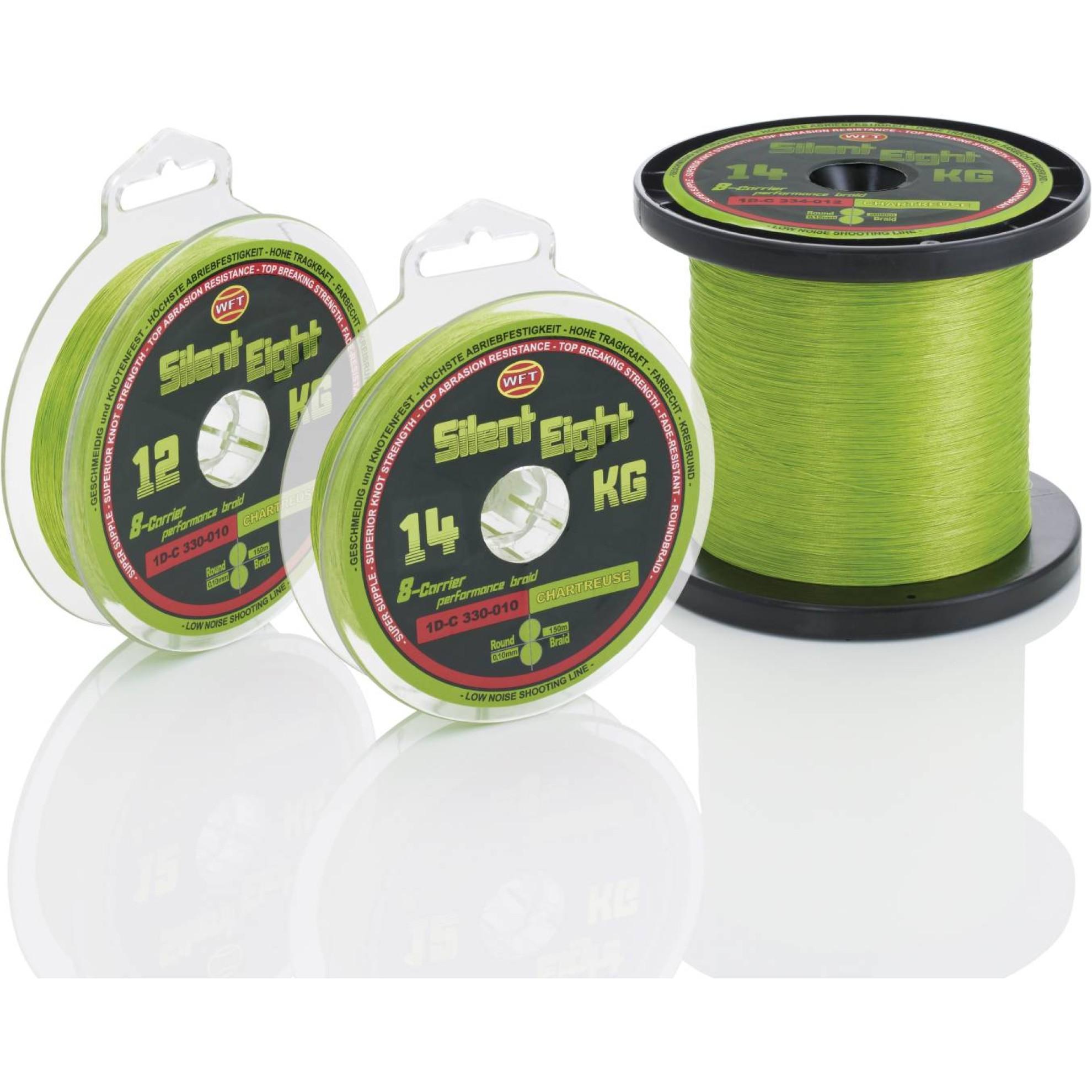 Silent 8 chartreuse 150m, 23KG, 0.18mm