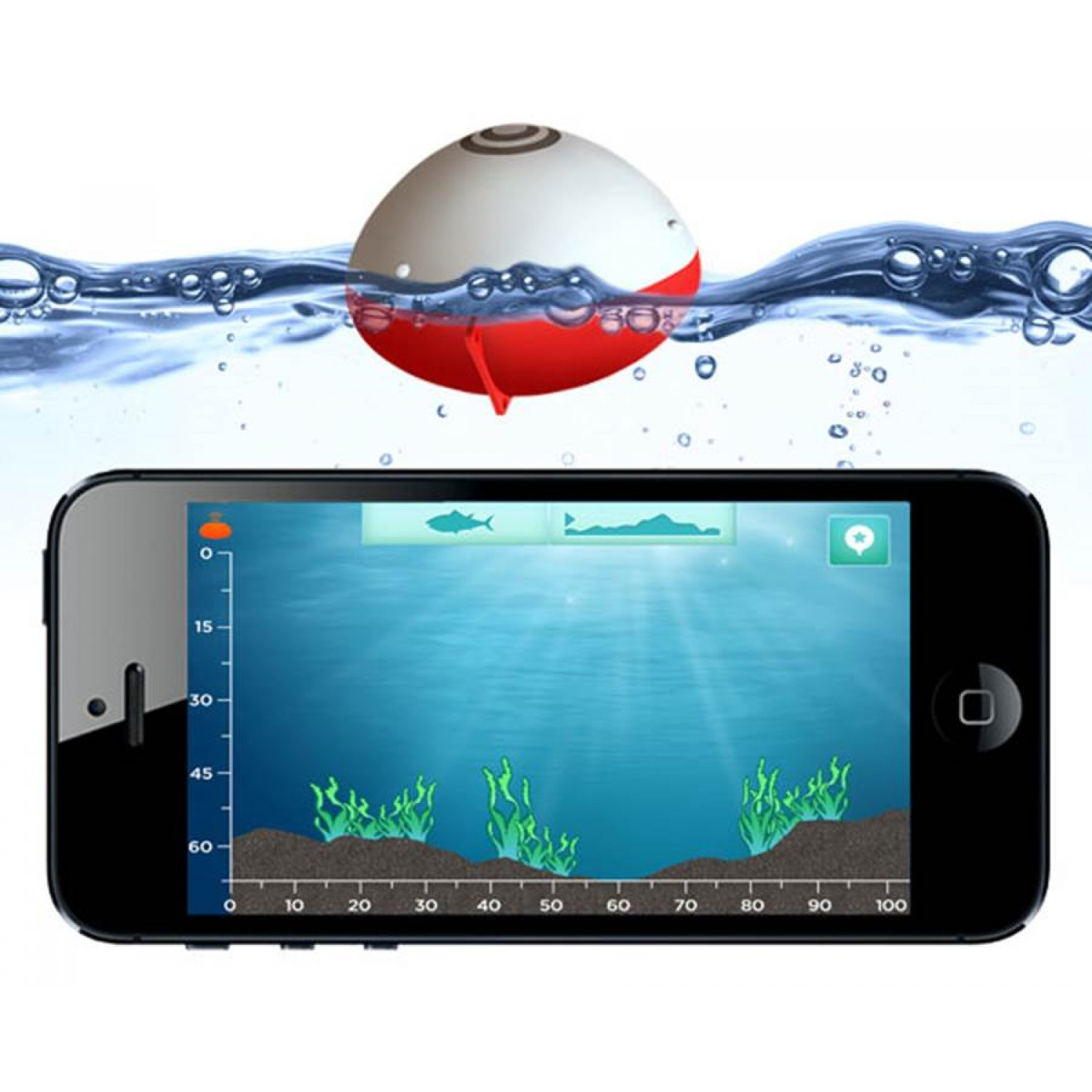 the bobber fish finder – cafe racer arina, Fish Finder