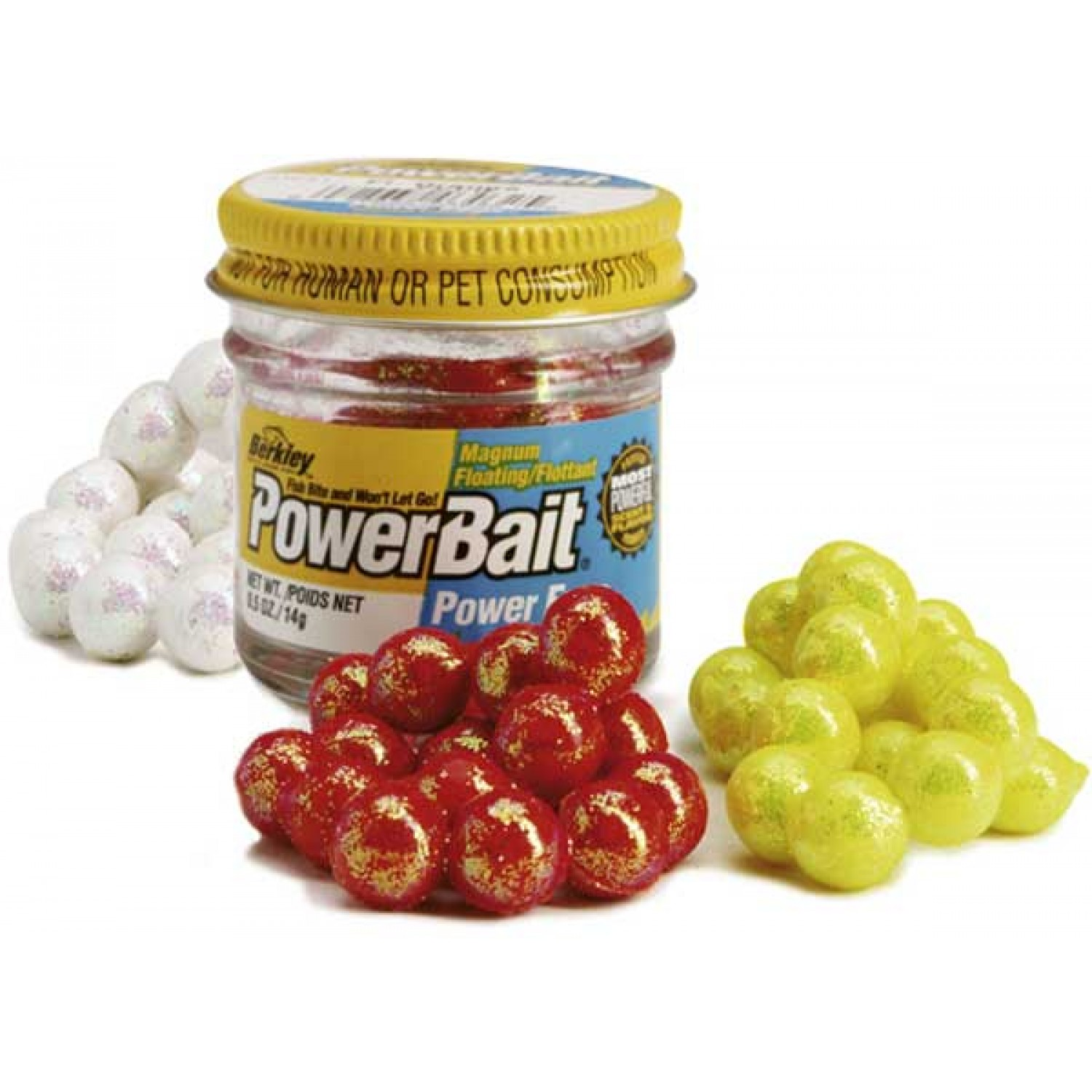 BERKLEY Powerbait Sparkle Power Eggs, 14g