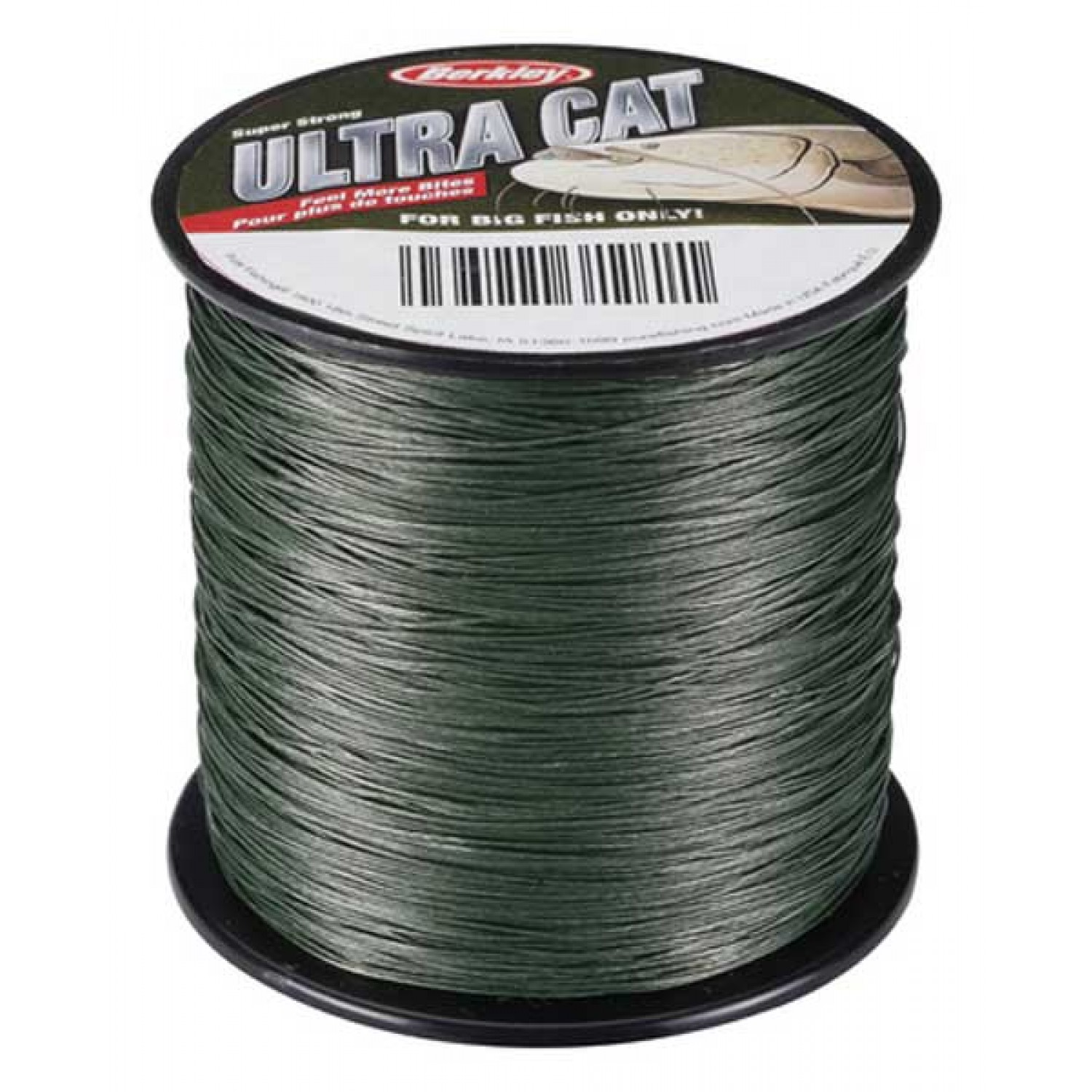 BERKLEY ULTRA CAT Lo Vis Green 300m