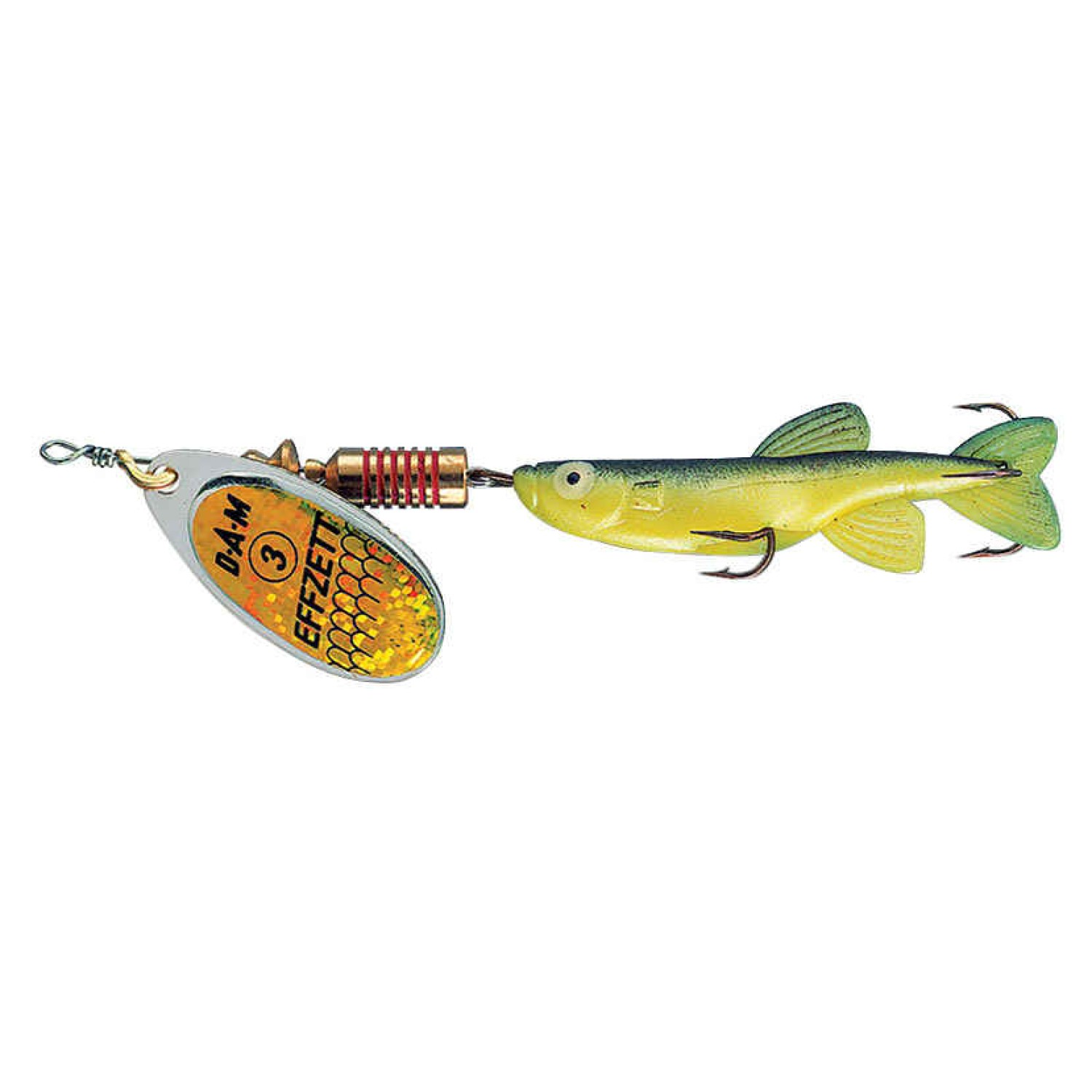 DAM FZ Minnow Yellow