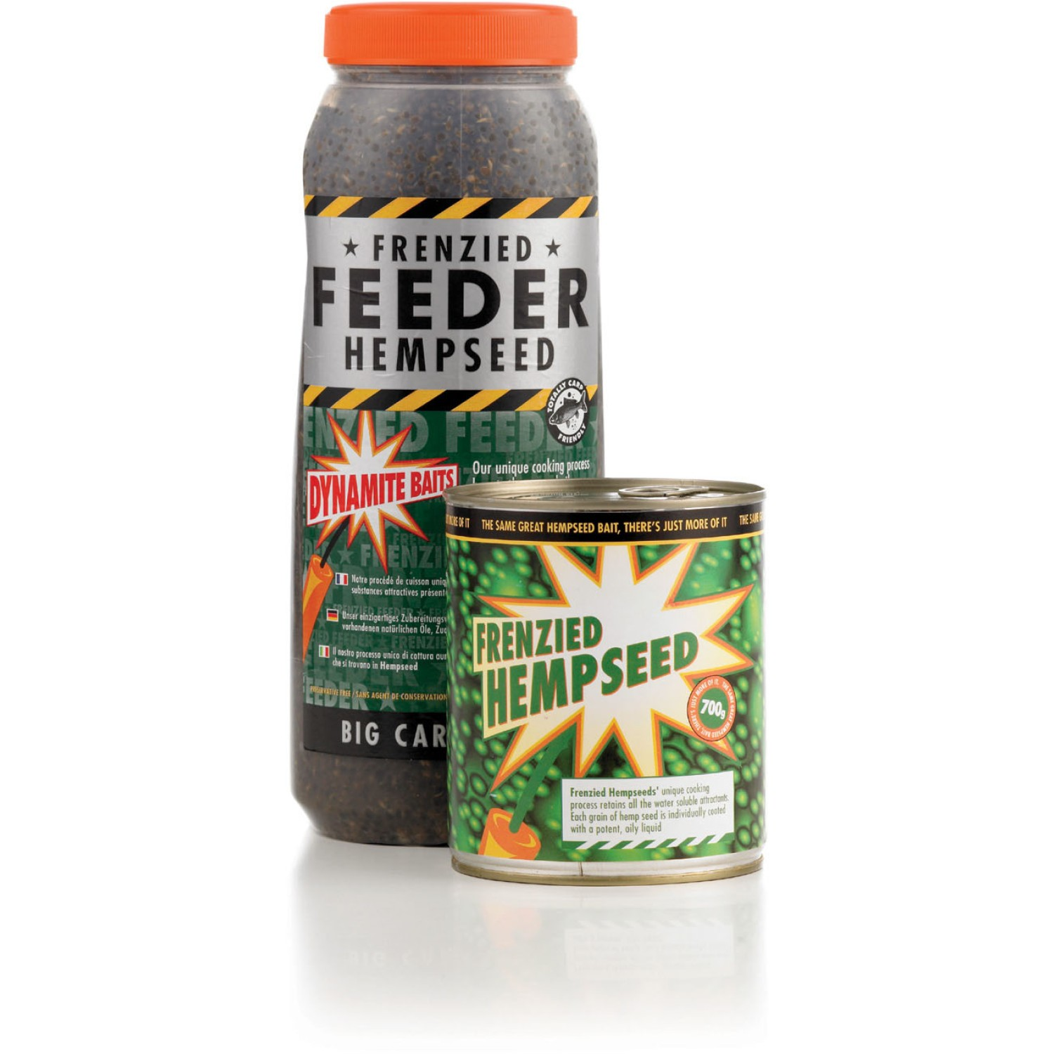 Dynamite Baits Particles Frenzied Hempseed 2.5 L