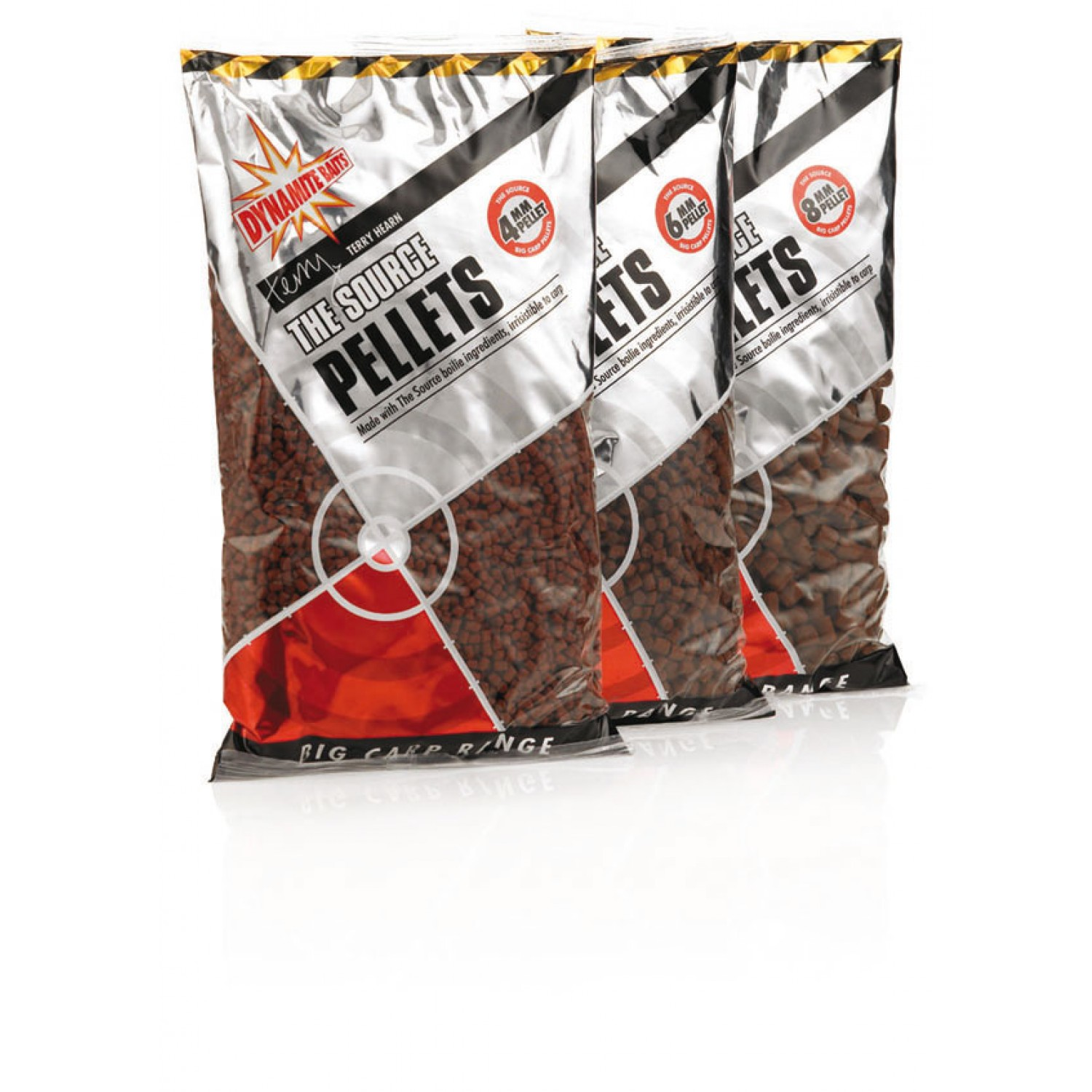 Dynamite Baits Pellets 900g, The Source 4-8mm