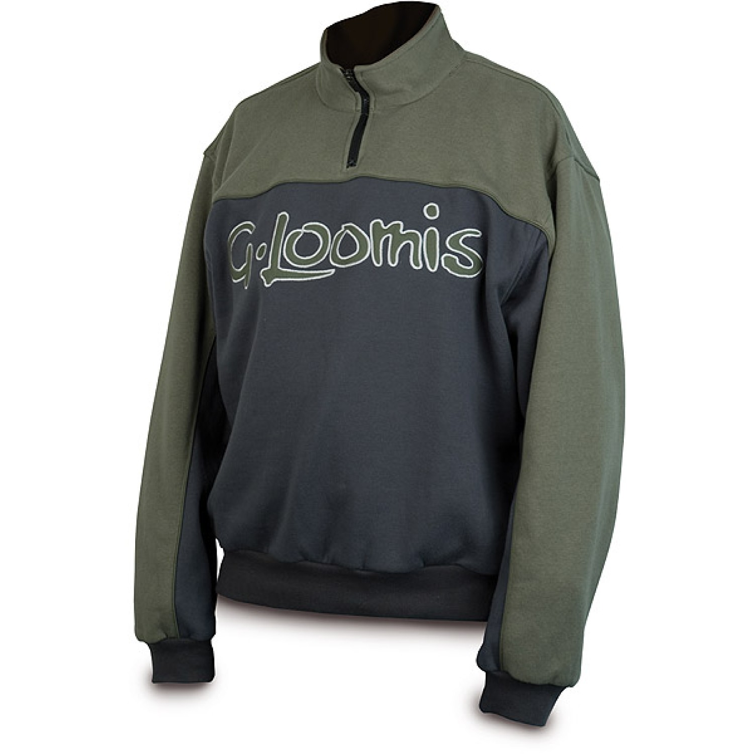 G.LOOMIS Half Zip Sweat
