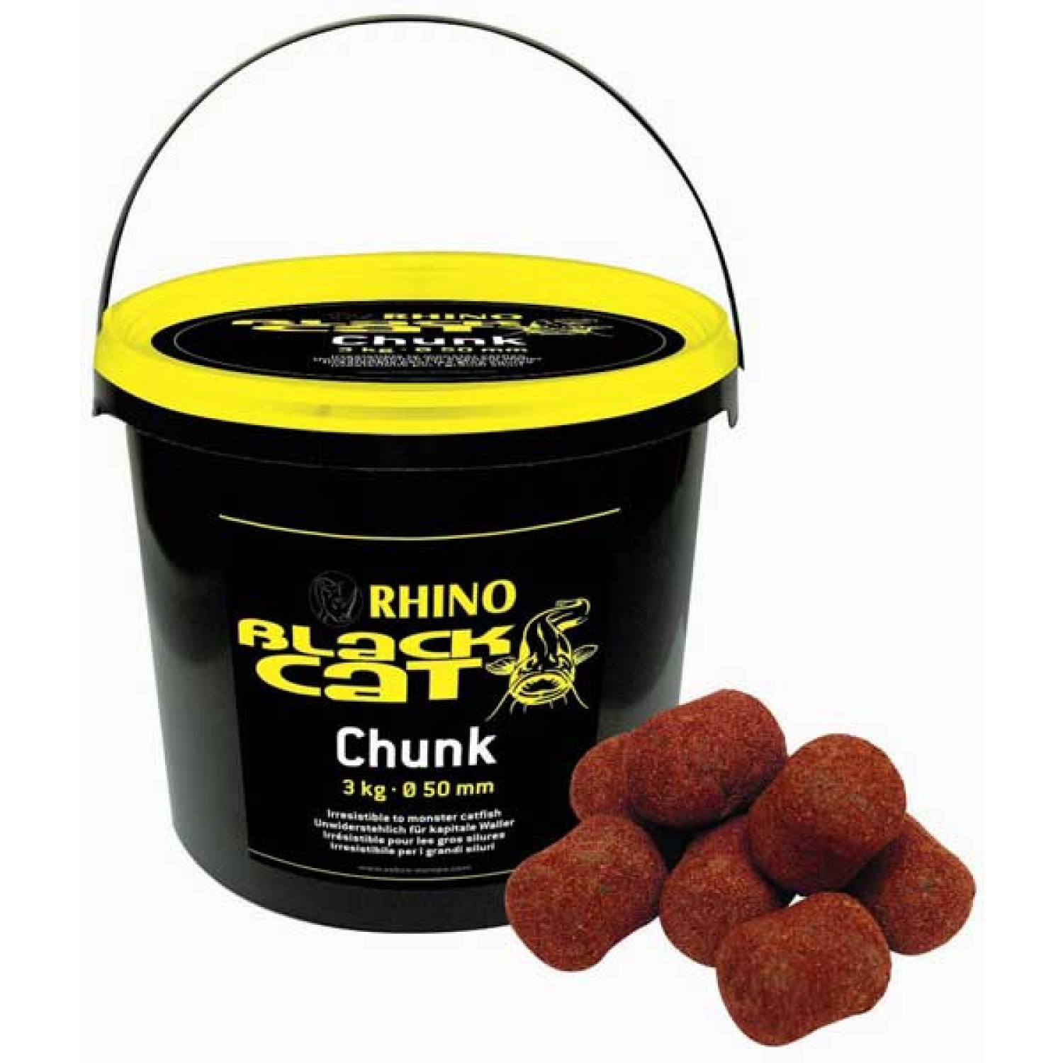 Rhino Black Cat Chunks 3kg / 50mm