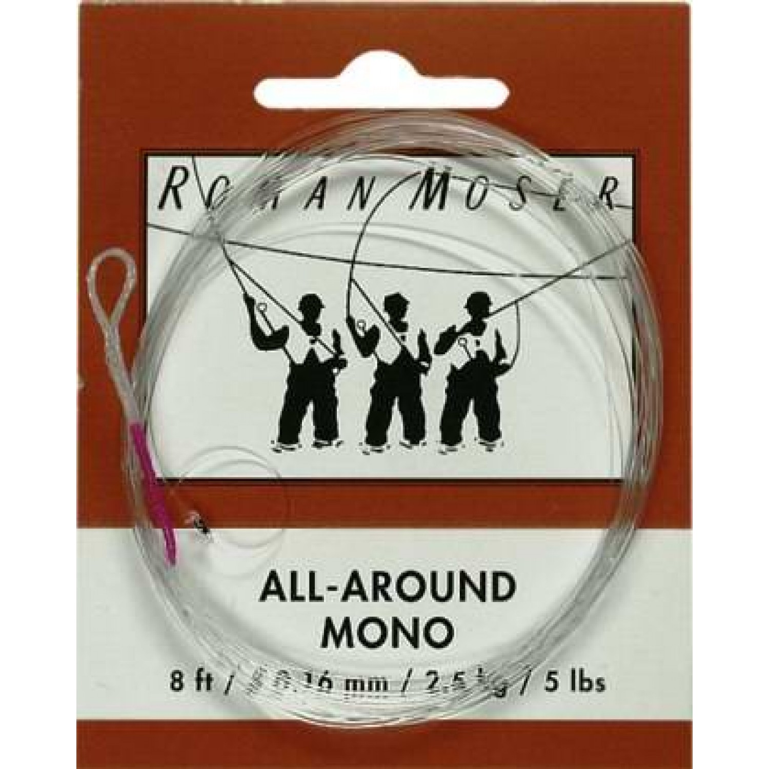 RM - All Around Mono: (8 ft/# 0,16 mm)