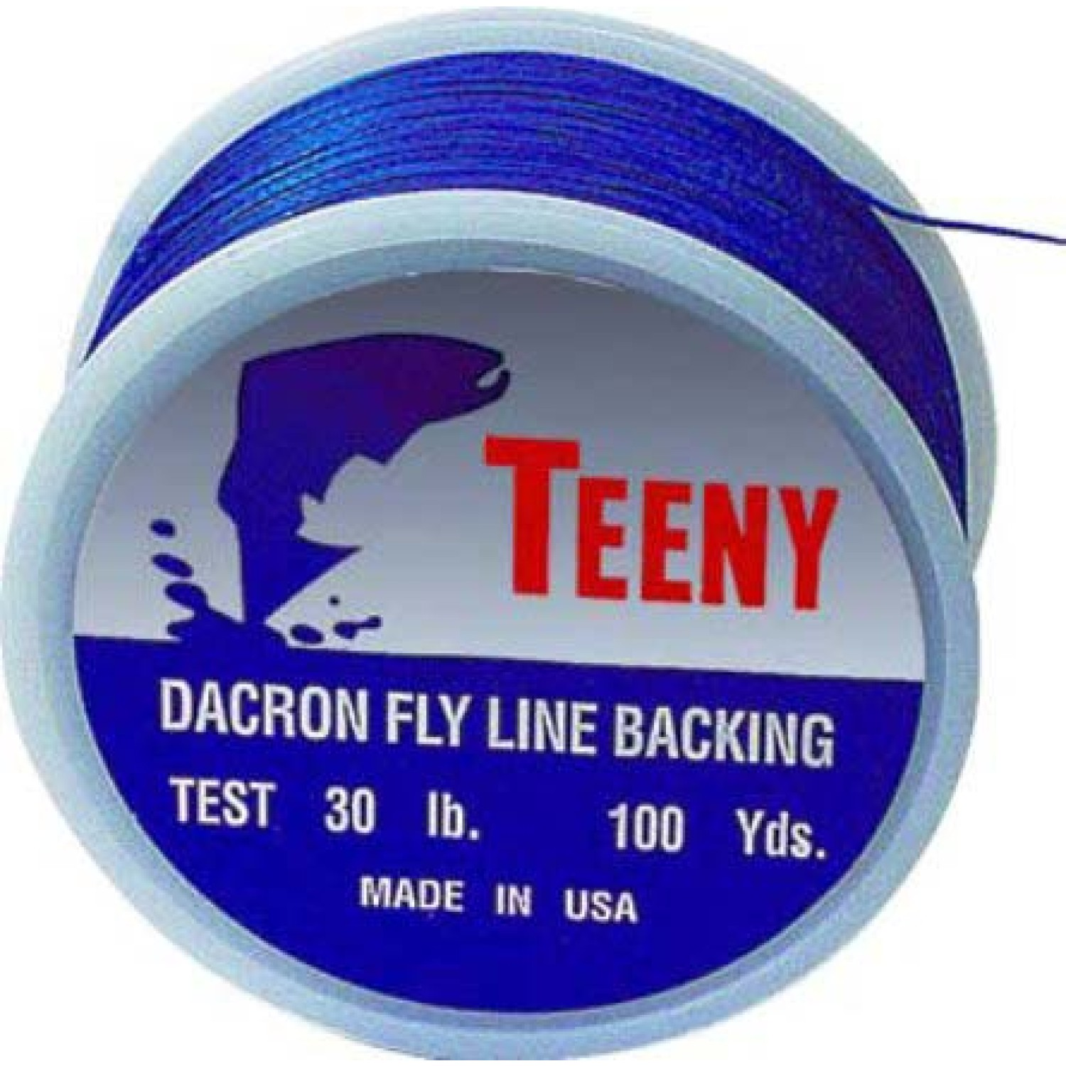 Teeny - Backing - 1000yds - blau