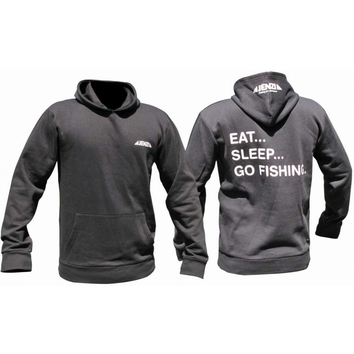 Jenzi Eat-Sleep-Go Fishing Sweat-shirt