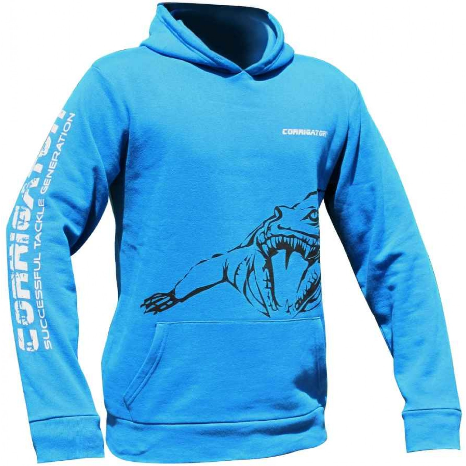 Jenzi Corrigator Sweat-shirt blau