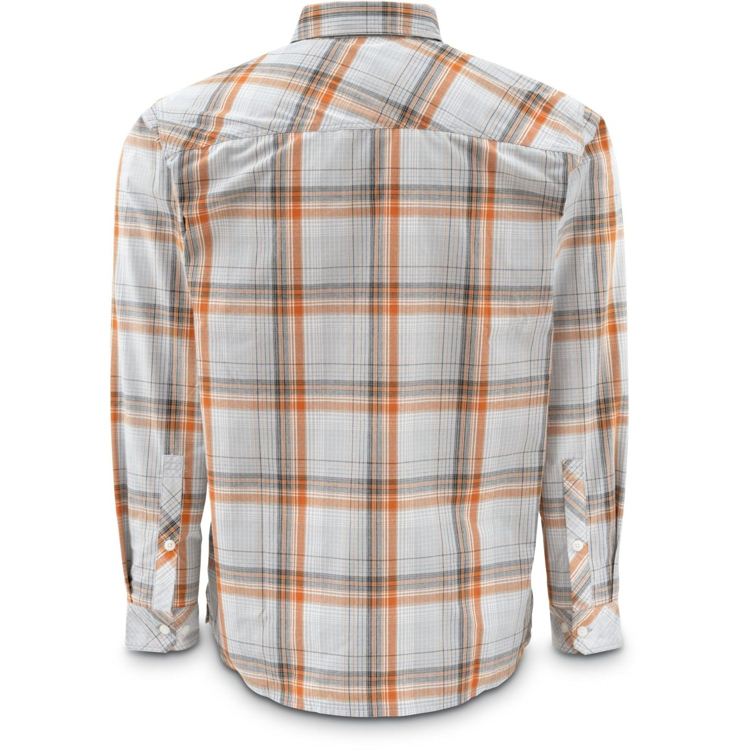 Simms Kenai Shirt Grey Plaid