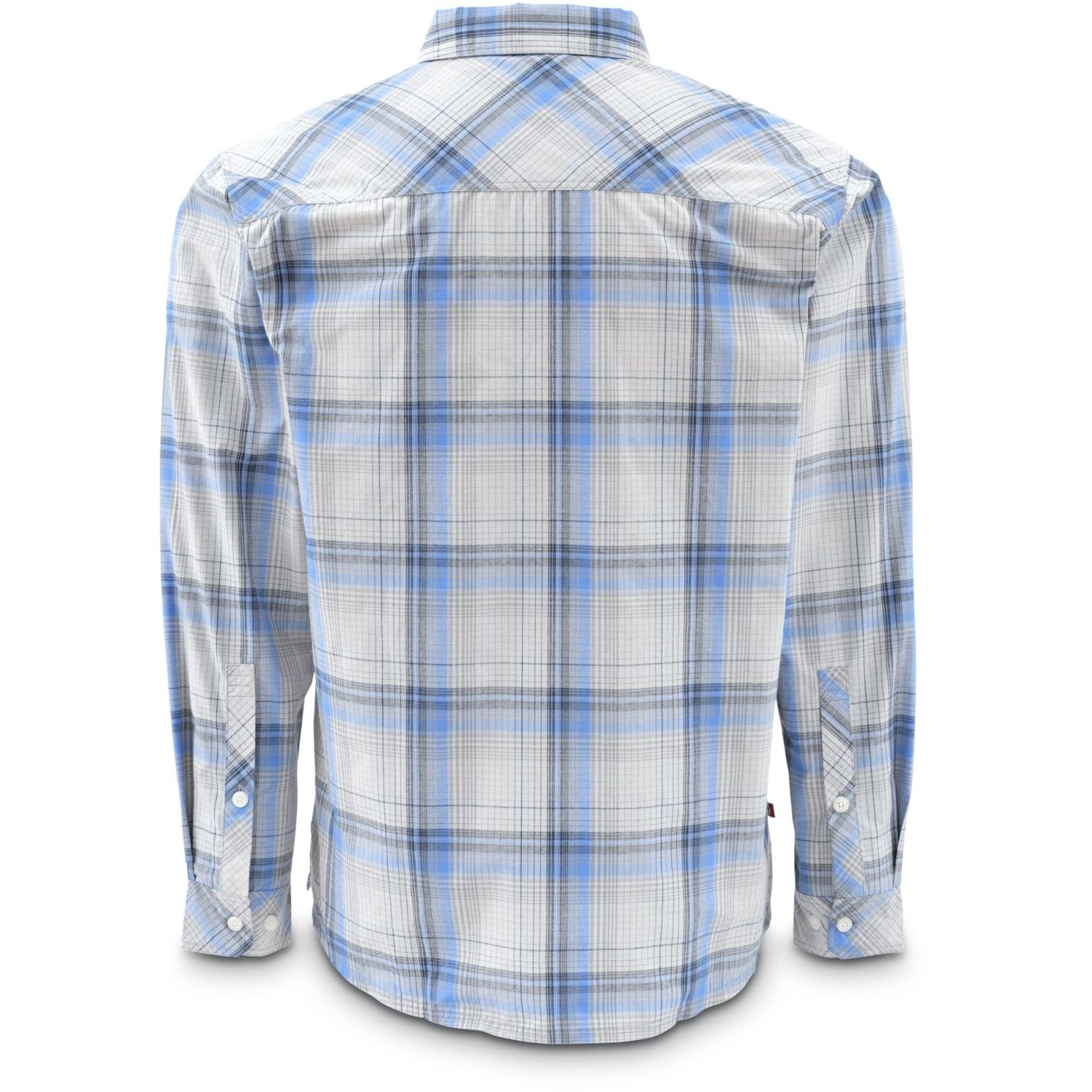 Simms Kenai Shirt Wave Plaid