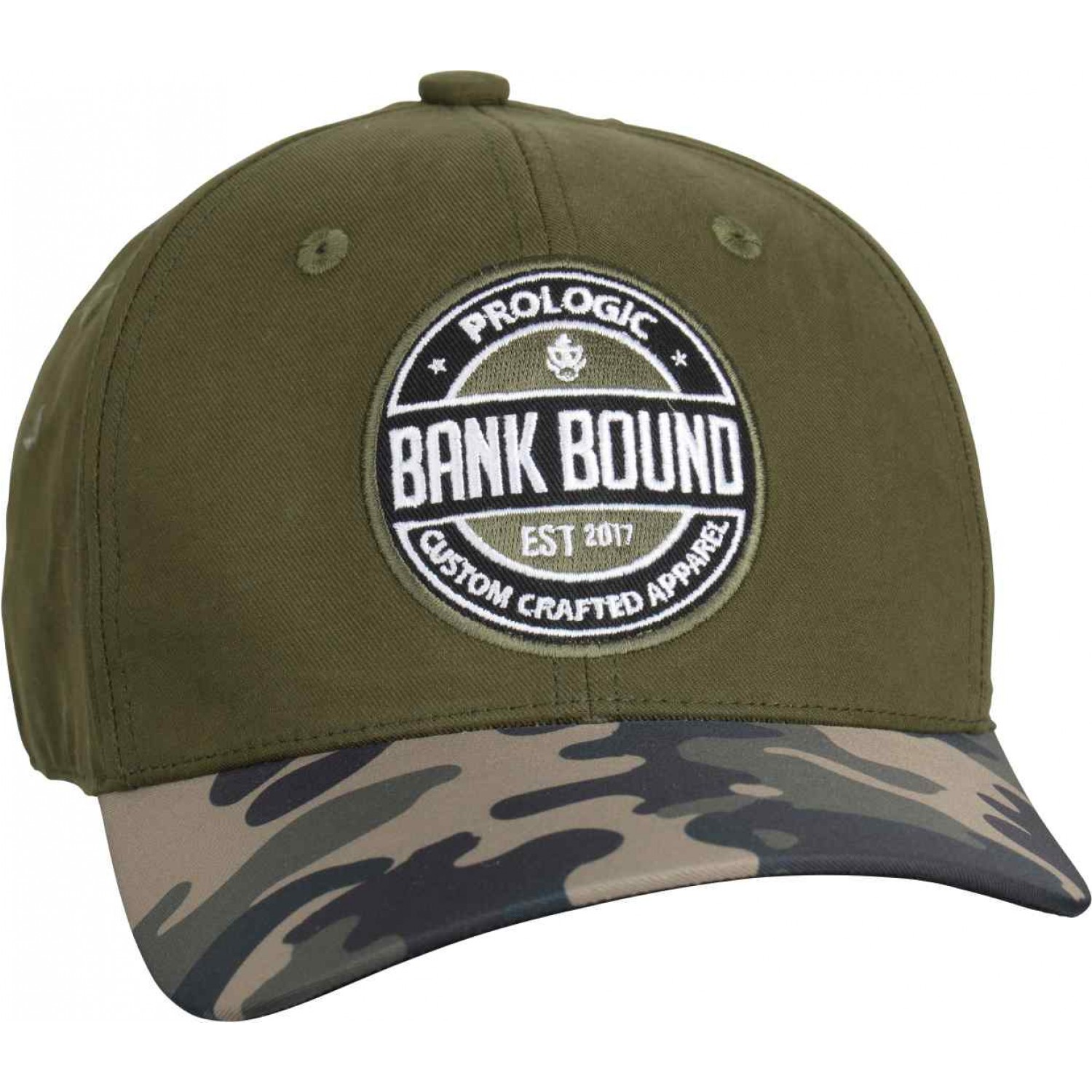 Prologic Bank Bound Camo Cap Green/Camo One Size