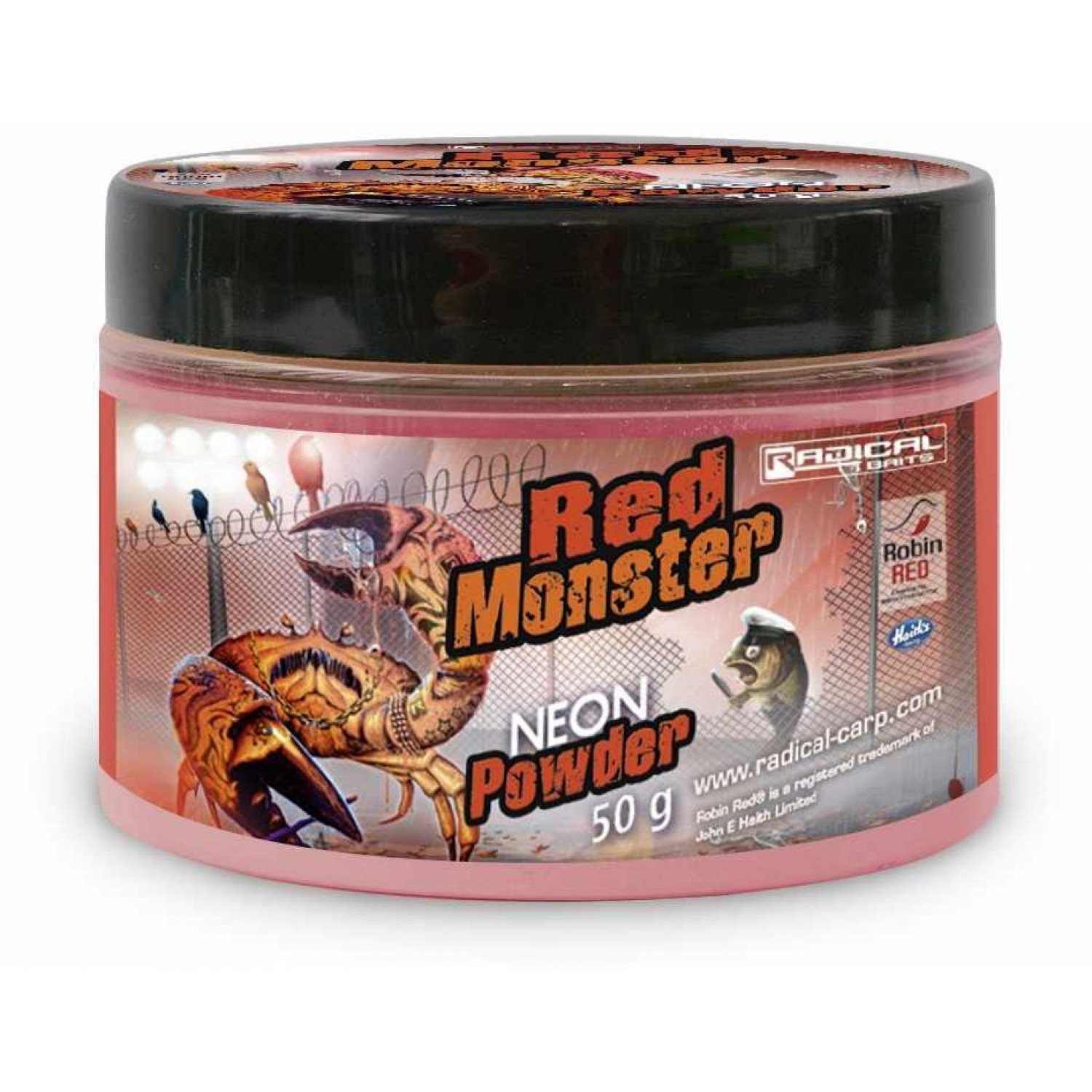 Quantum Radical Baits Red Monster Neon Powder 50g