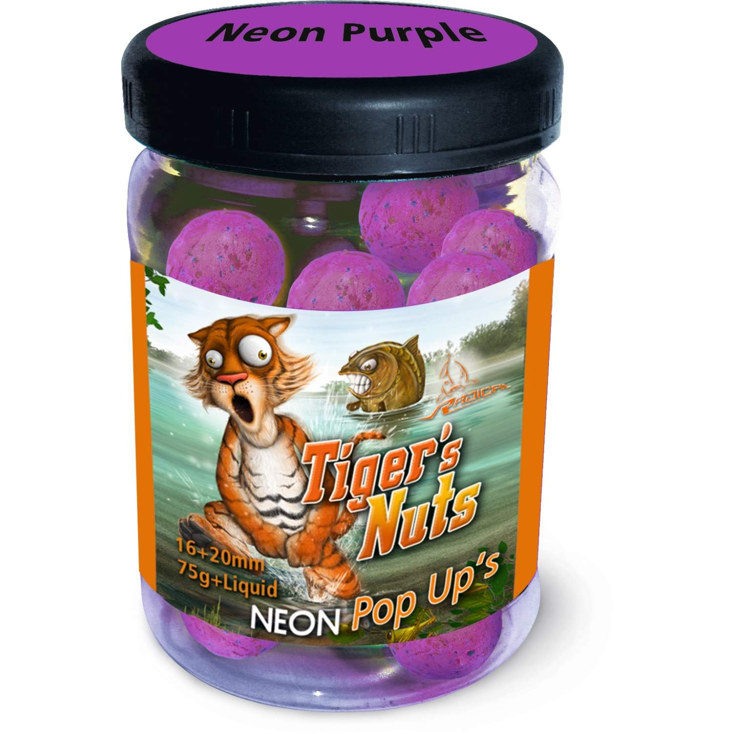 QUANTUM Radical Tiger's Nuts Neon Pop Up?s 75g, 16mm