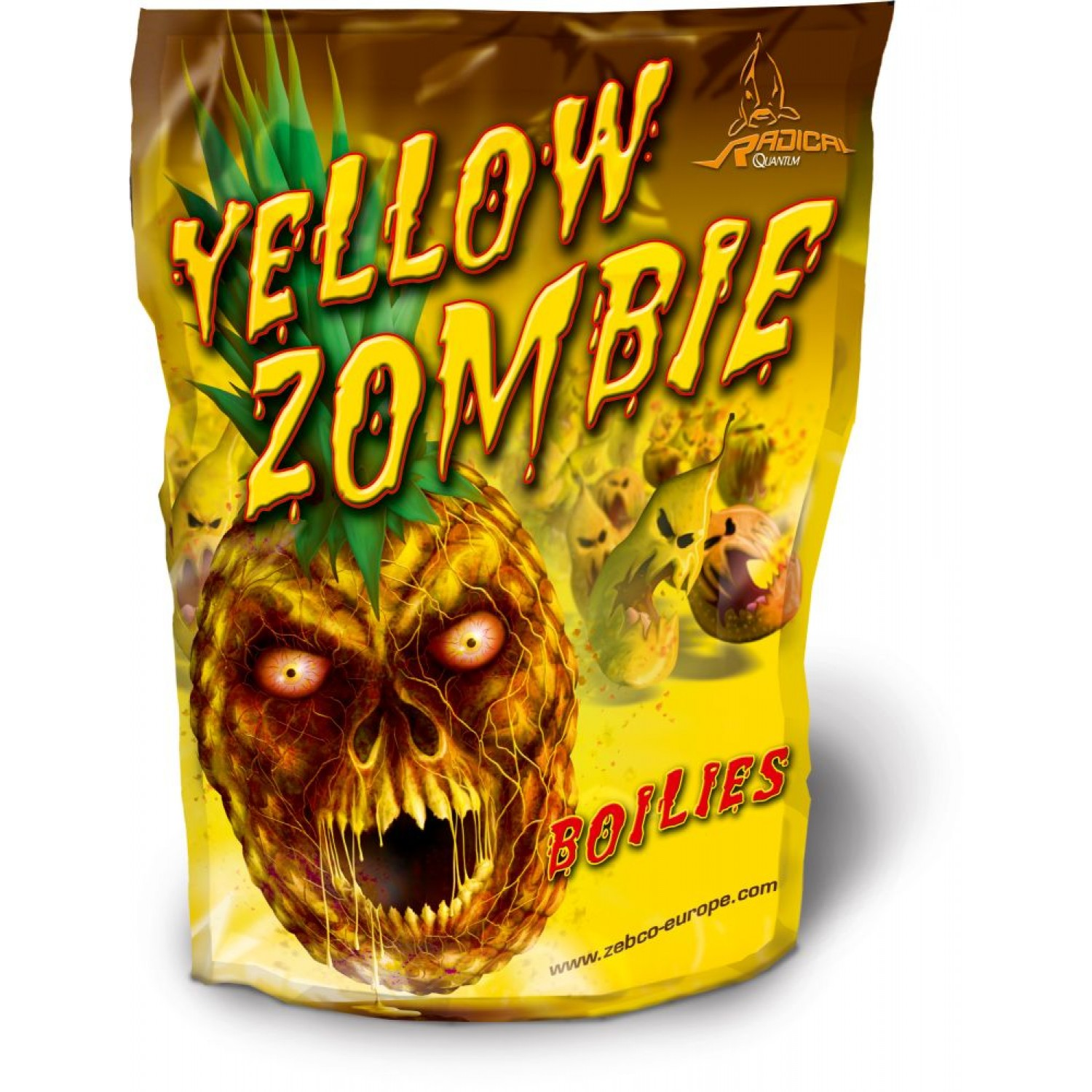 QUANTUM Radical Yellow Zombie Boilie