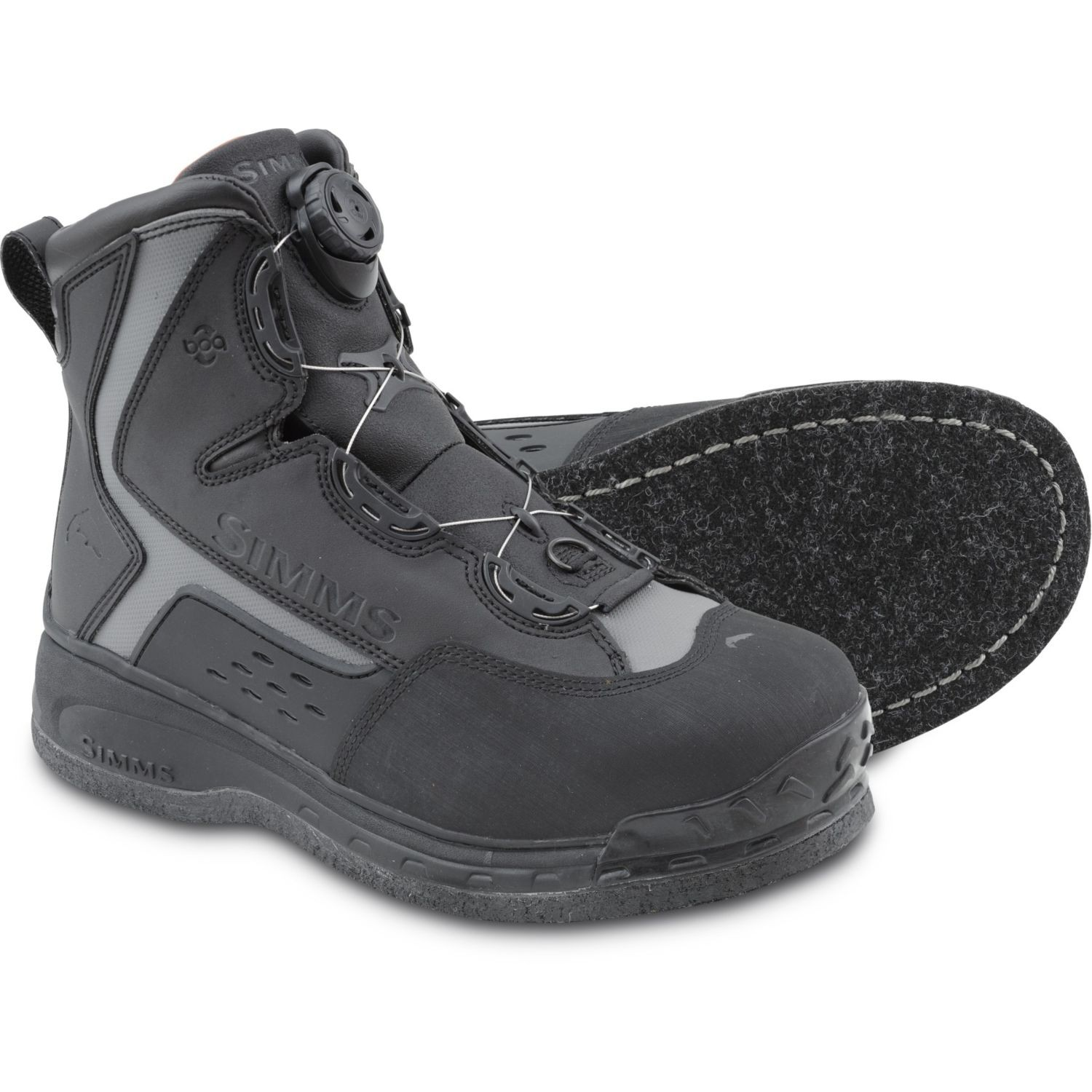 Simms Rivertek BOA Boot Felt