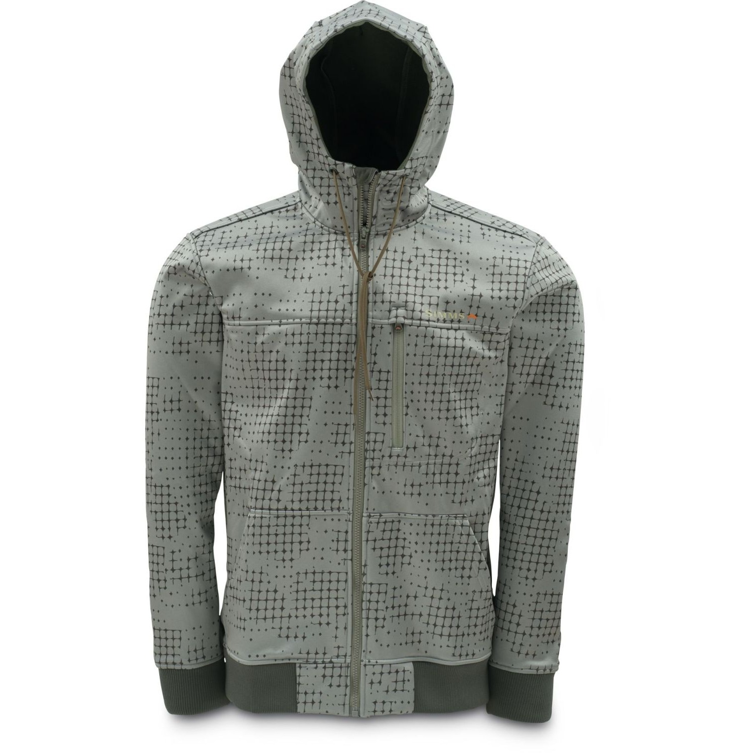 Simms Rogue Flecce Hoody Catch Print