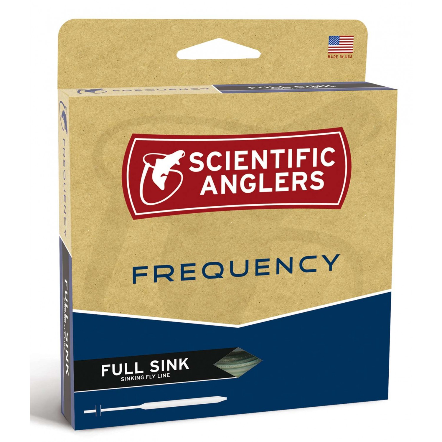 Scientific Anglers - Frequency Full Sink. 6 Dk.Gray WF-S