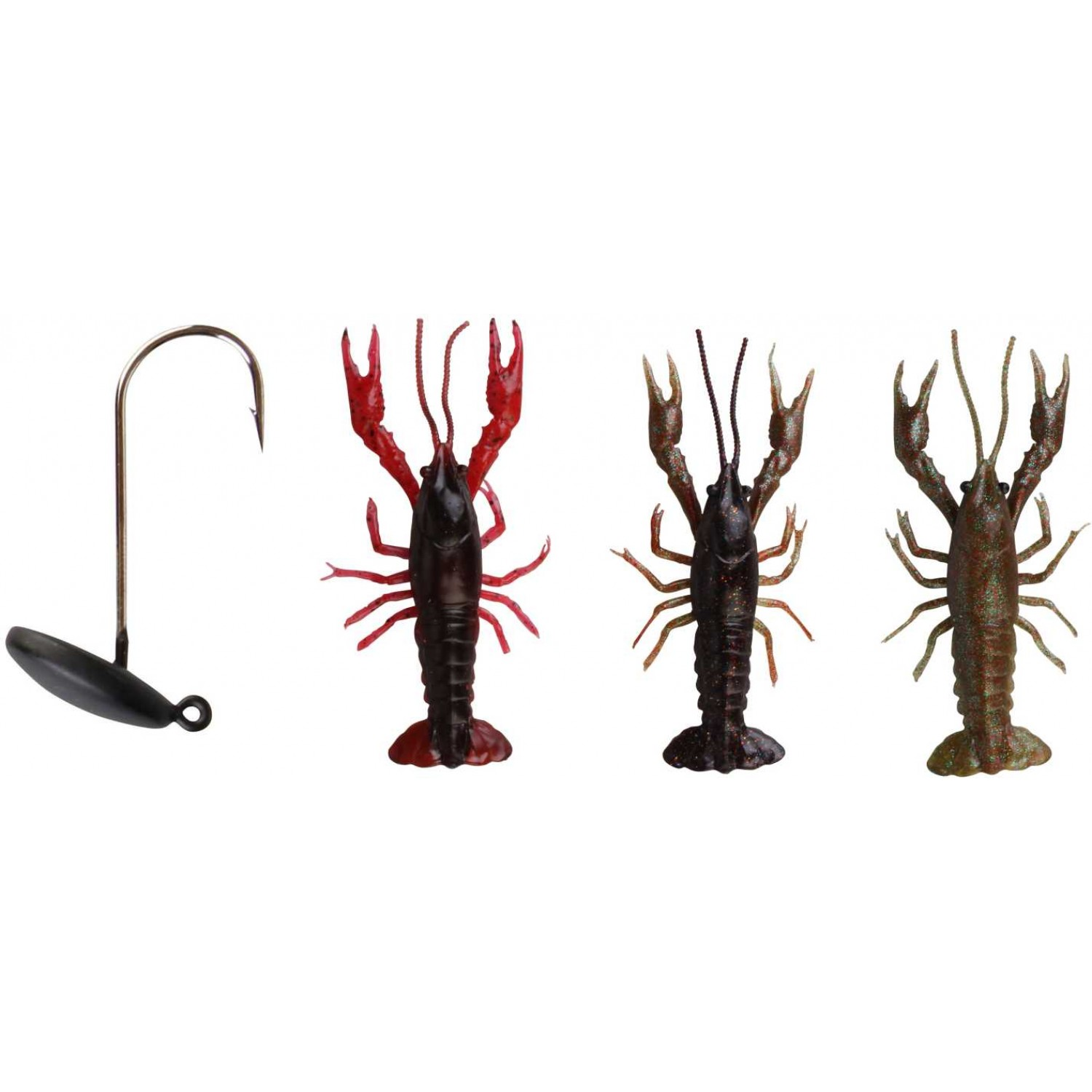 SG 3D Crayfish Kit 8cm 3+1