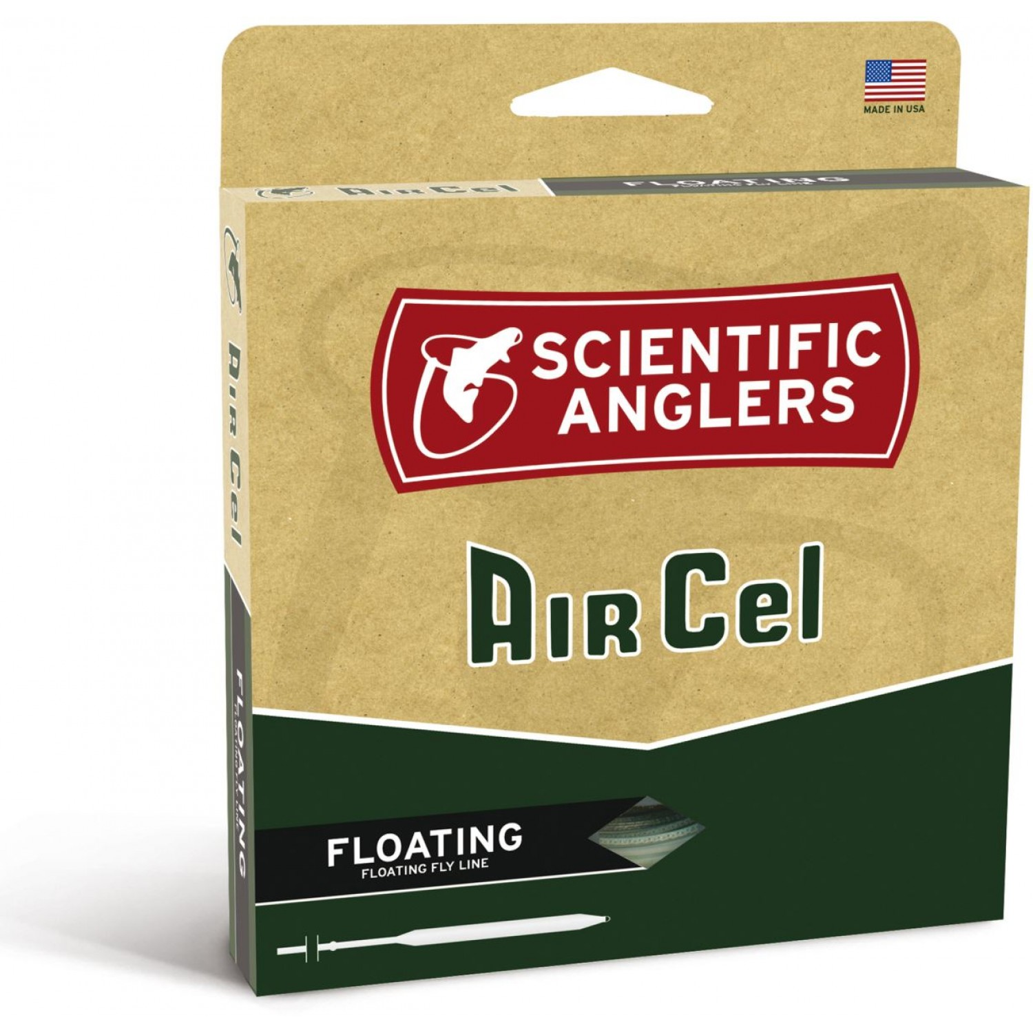 Scientific Anglers - Air Cel Yellow WF-F