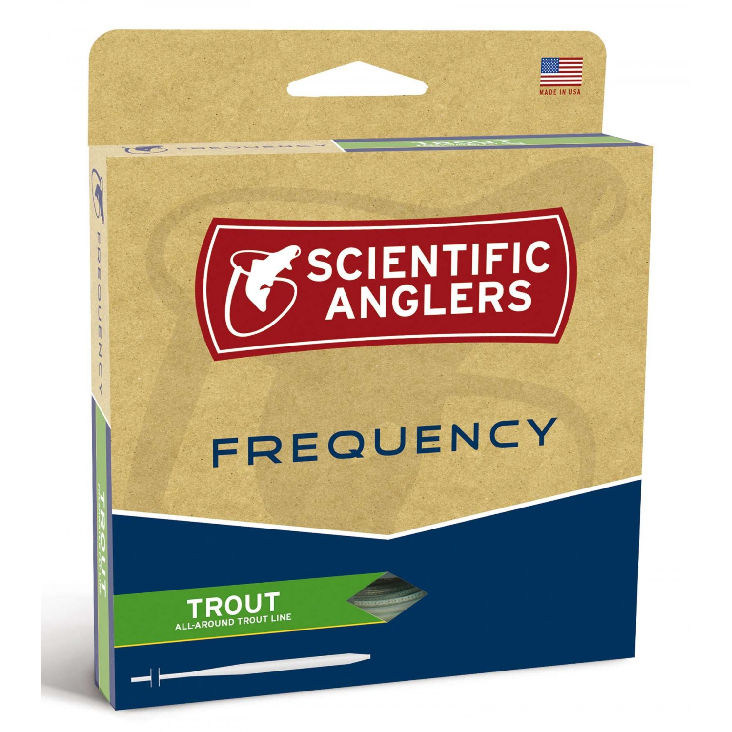 Scientific Anglers - Frequency Trout Buckskin WF