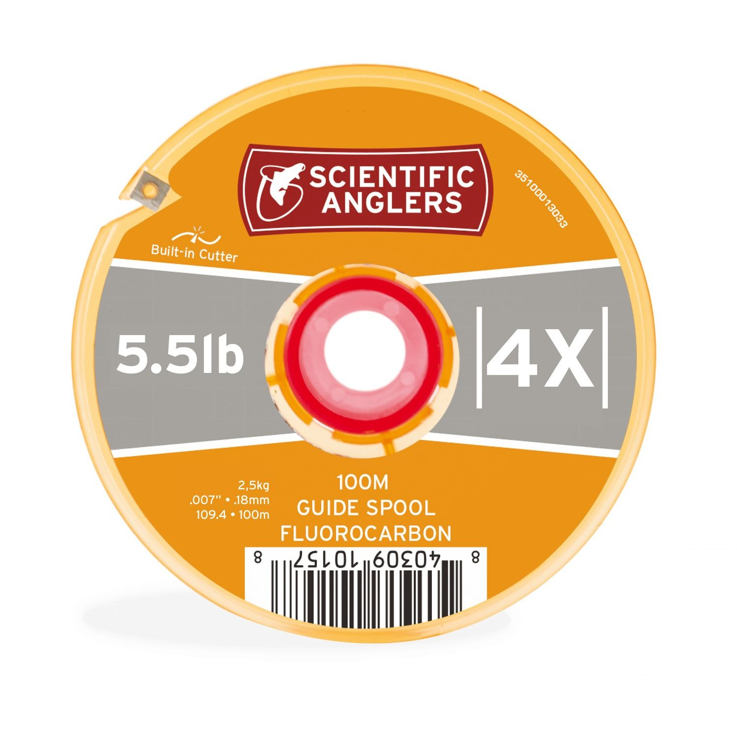 Scientific Anglers - Fluoro Tippet 100m Guide Spool