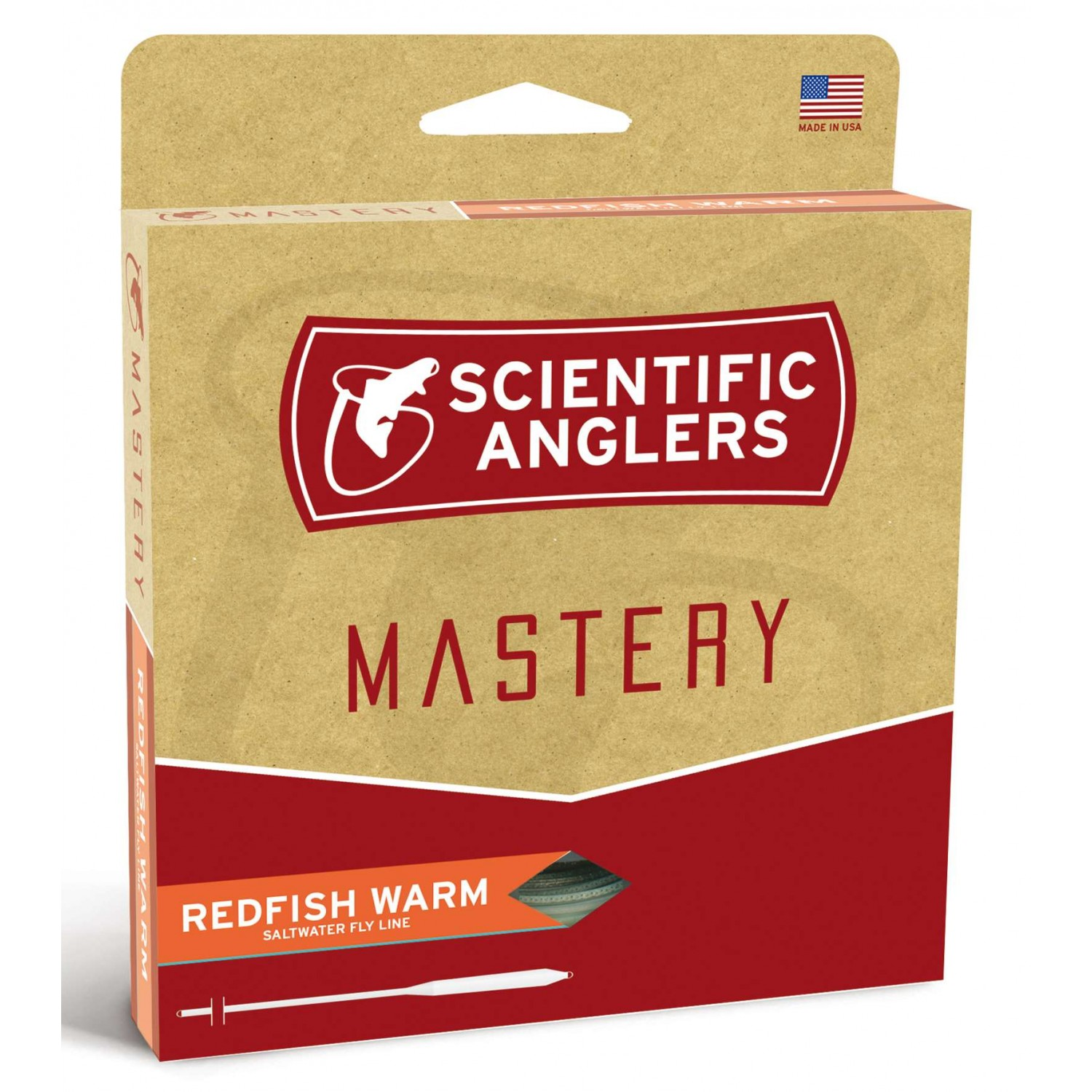 Scientific Anglers - Mastery Redfish Warmwater Aqua/Mist Gre