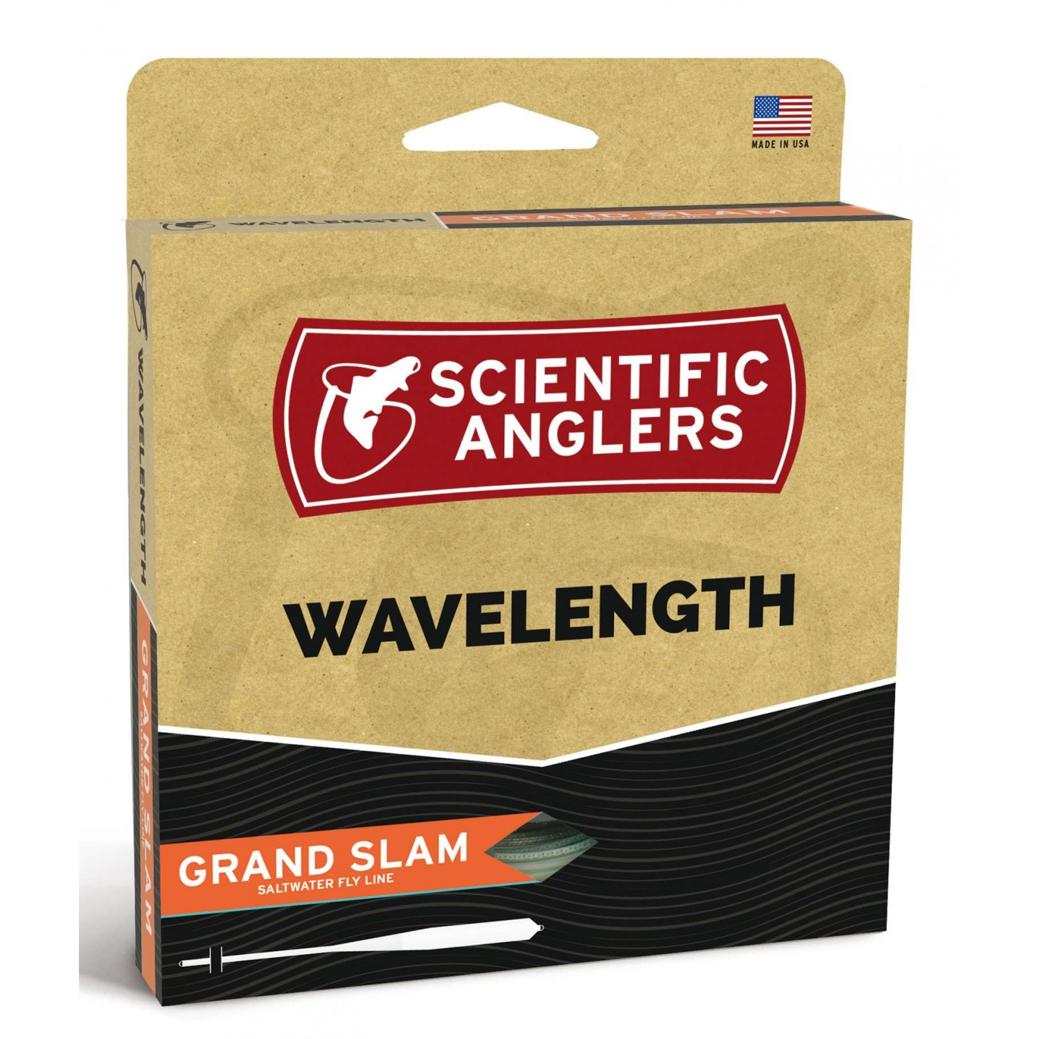 Scientific Anglers - Wavelenght Grand Slam Pale Yellow/Horiz