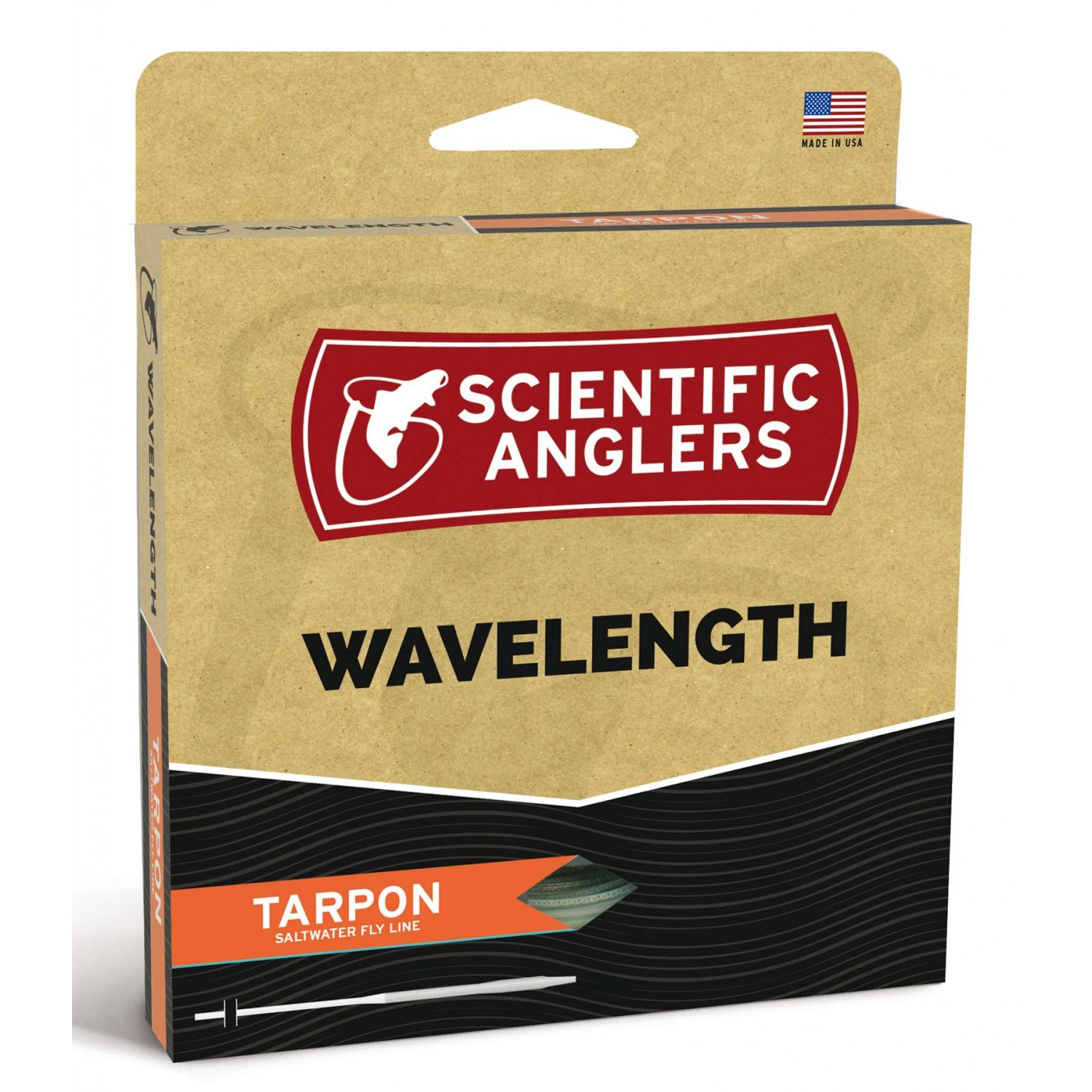 Scientific Anglers - Wavelenght Tarpon Sunset/Sand WF
