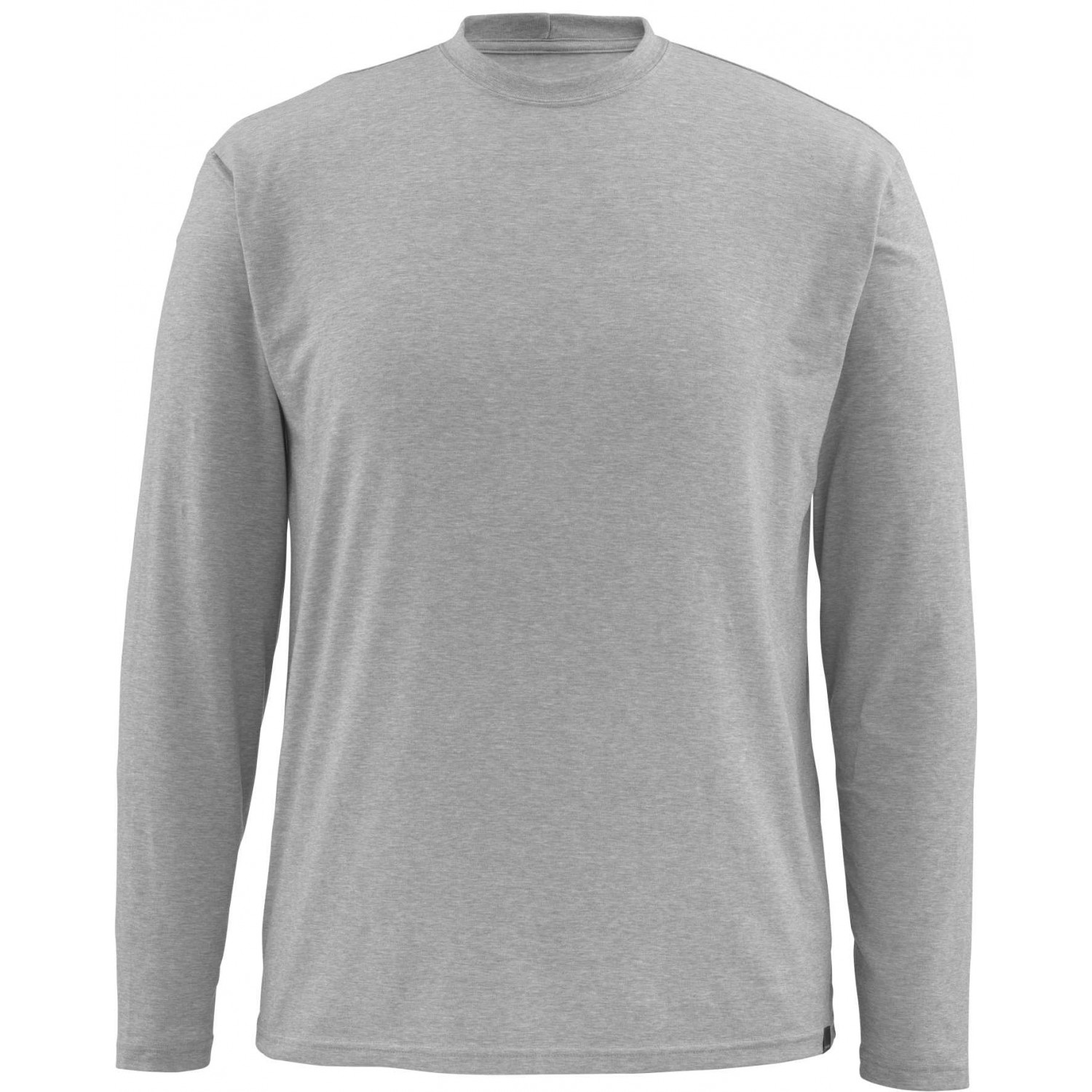 Simms Bugstopper LS Tech Tee Smoke